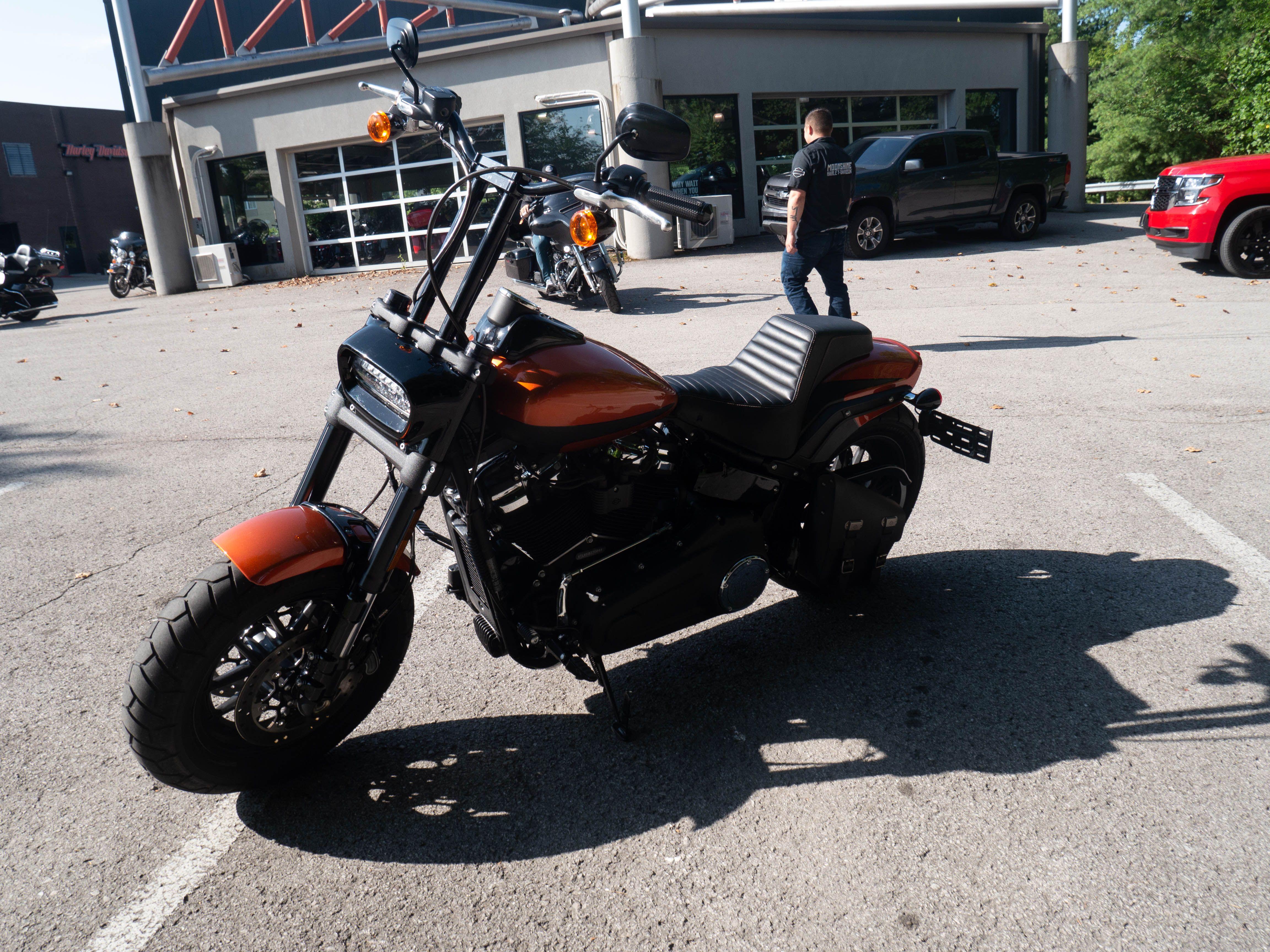 Pre-Owned 2019 Harley-Davidson Fat Bob 114