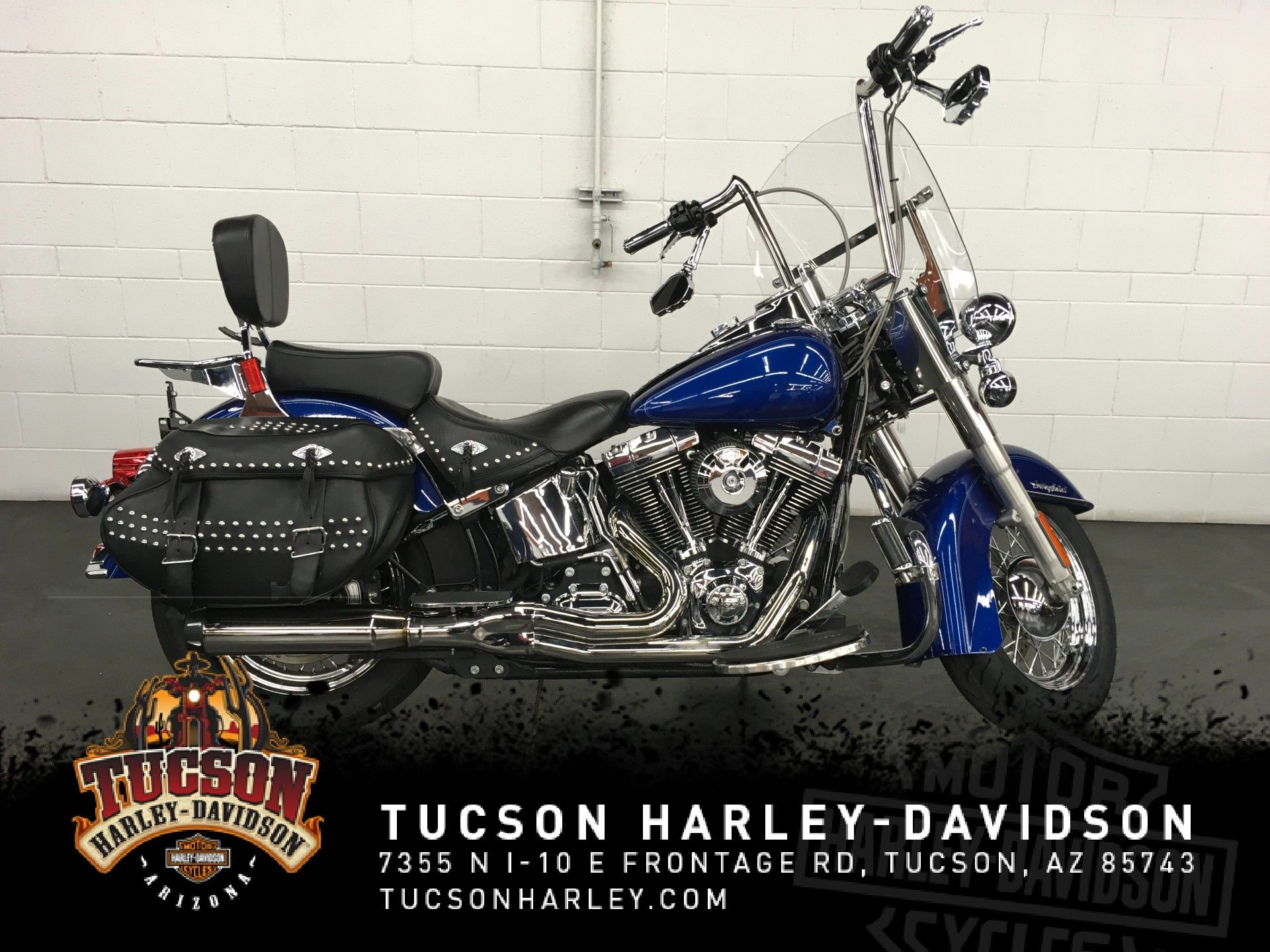 Pre-Owned 2015 Harley-Davidson Softail Heritage Softail Classic FLSTC