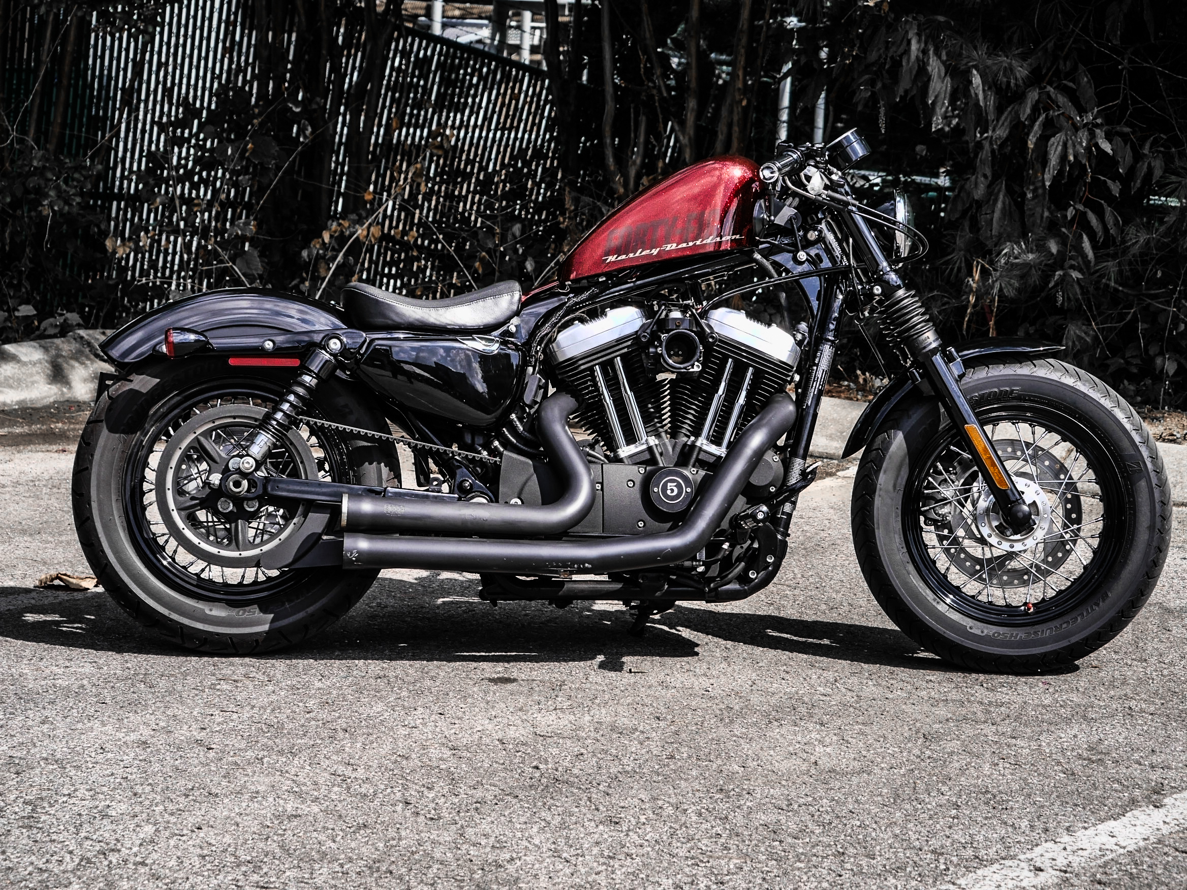 Pre-Owned 2015 Harley-Davidson Forty-Eight