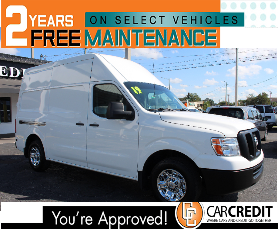 Pre-Owned 2019 Nissan NV Cargo SV