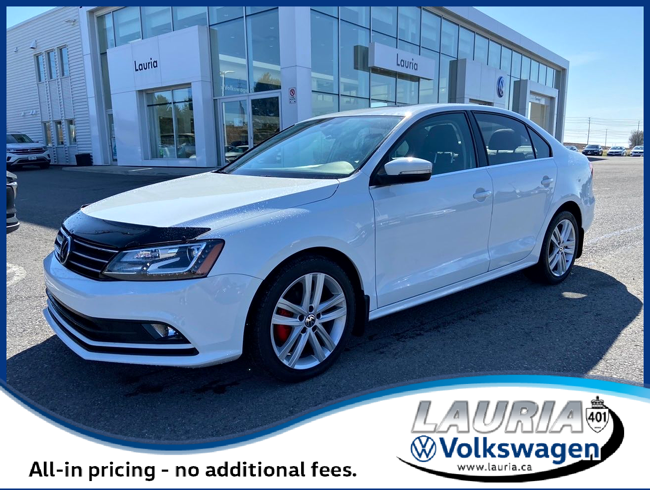 Pre-Owned 2017 Volkswagen Jetta Highline Auto - Loaded / 1 owner