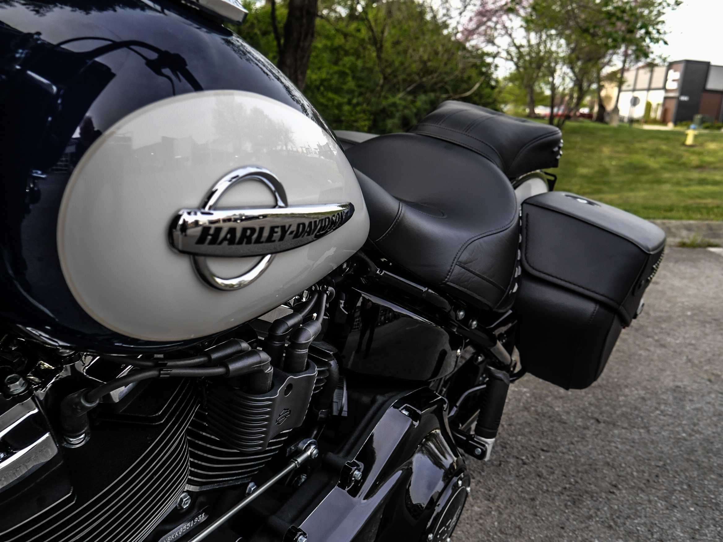New 2019 Harley-Davidson Heritage Classic 114