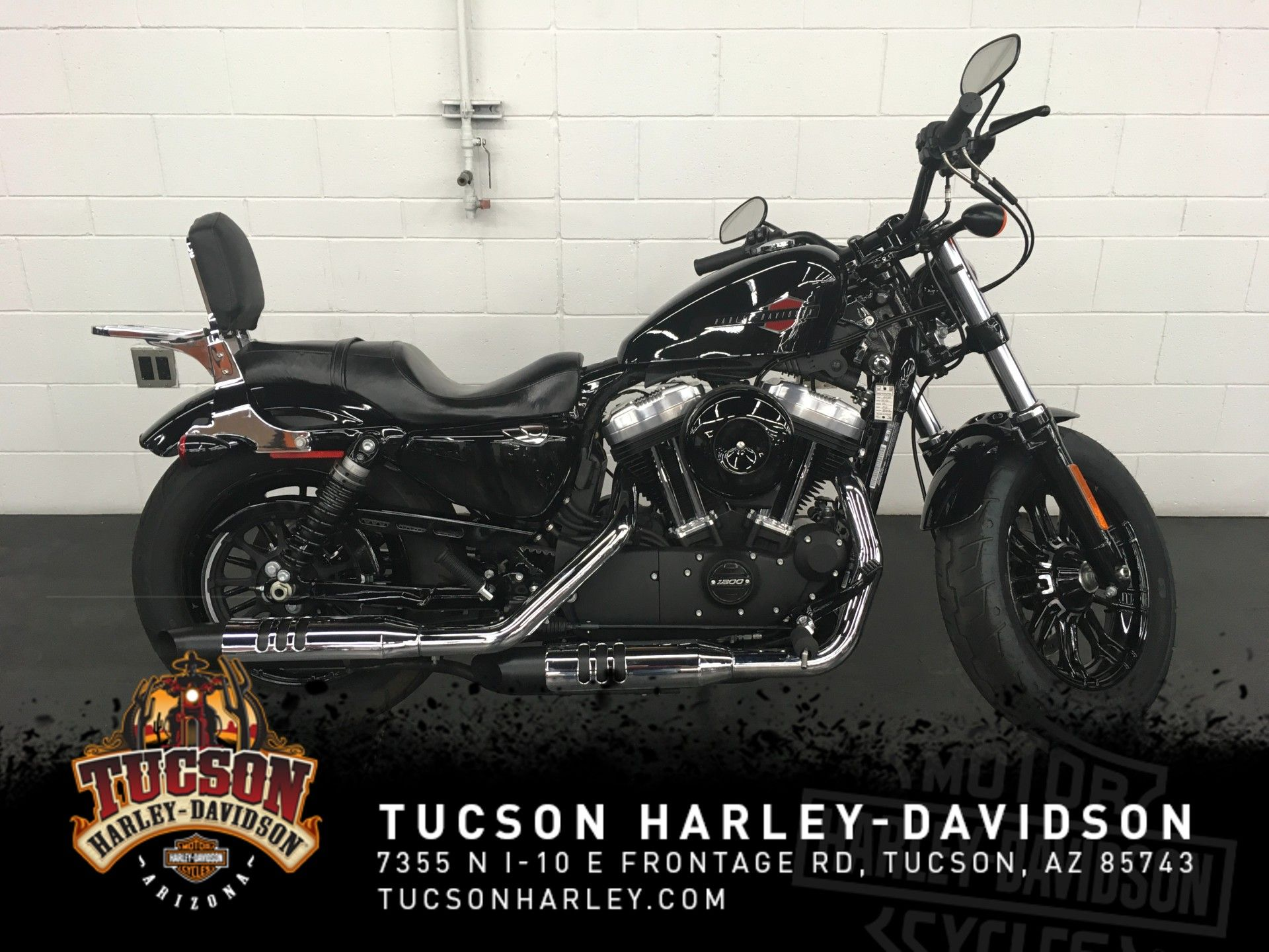 Pre-Owned 2020 Harley-Davidson Sportster Forty-Eight XL1200X