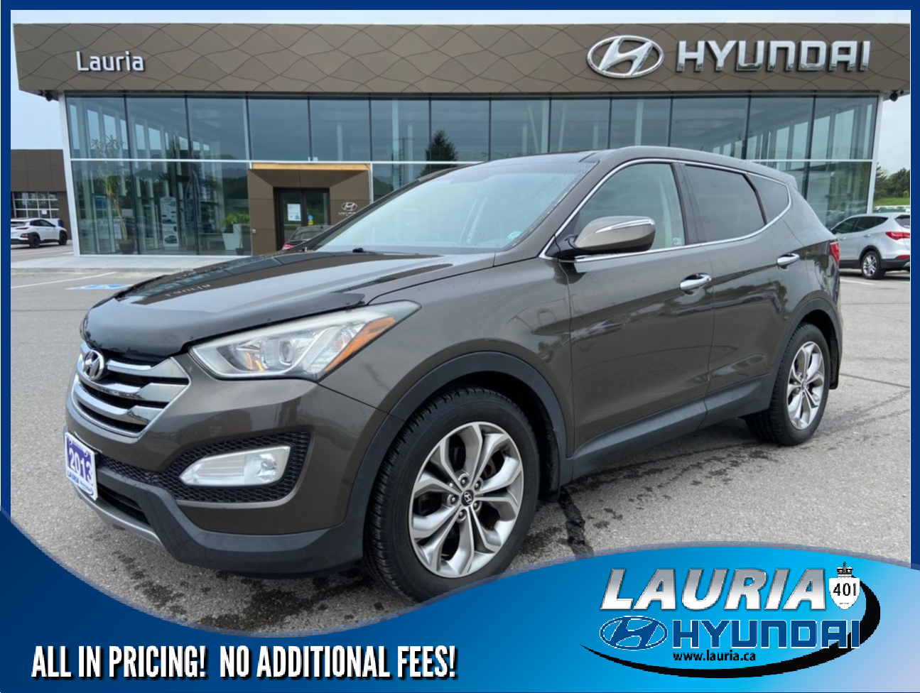 Pre-Owned 2013 Hyundai Santa Fe 2.0T AWD Limited - LOW KMS / LOADED