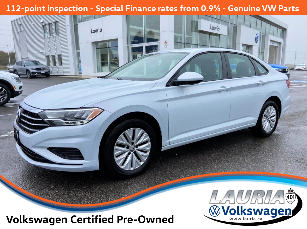 Certified Pre-Owned 2019 Volkswagen Jetta Comfortline Auto - Apple Carplay / Android Auto