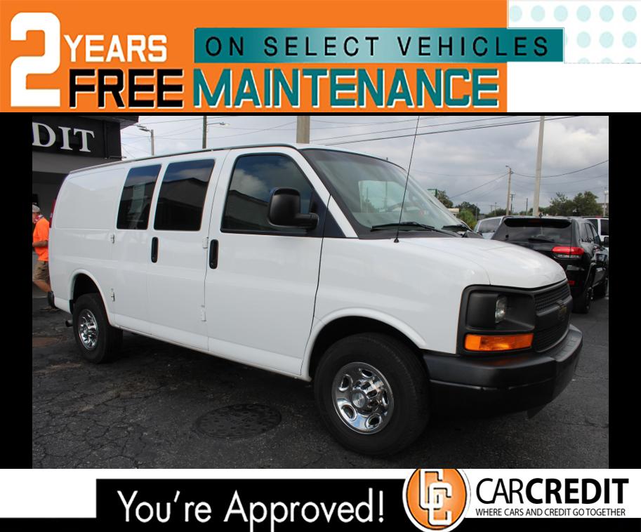 Pre-Owned 2017 Chevrolet Express Cargo Van