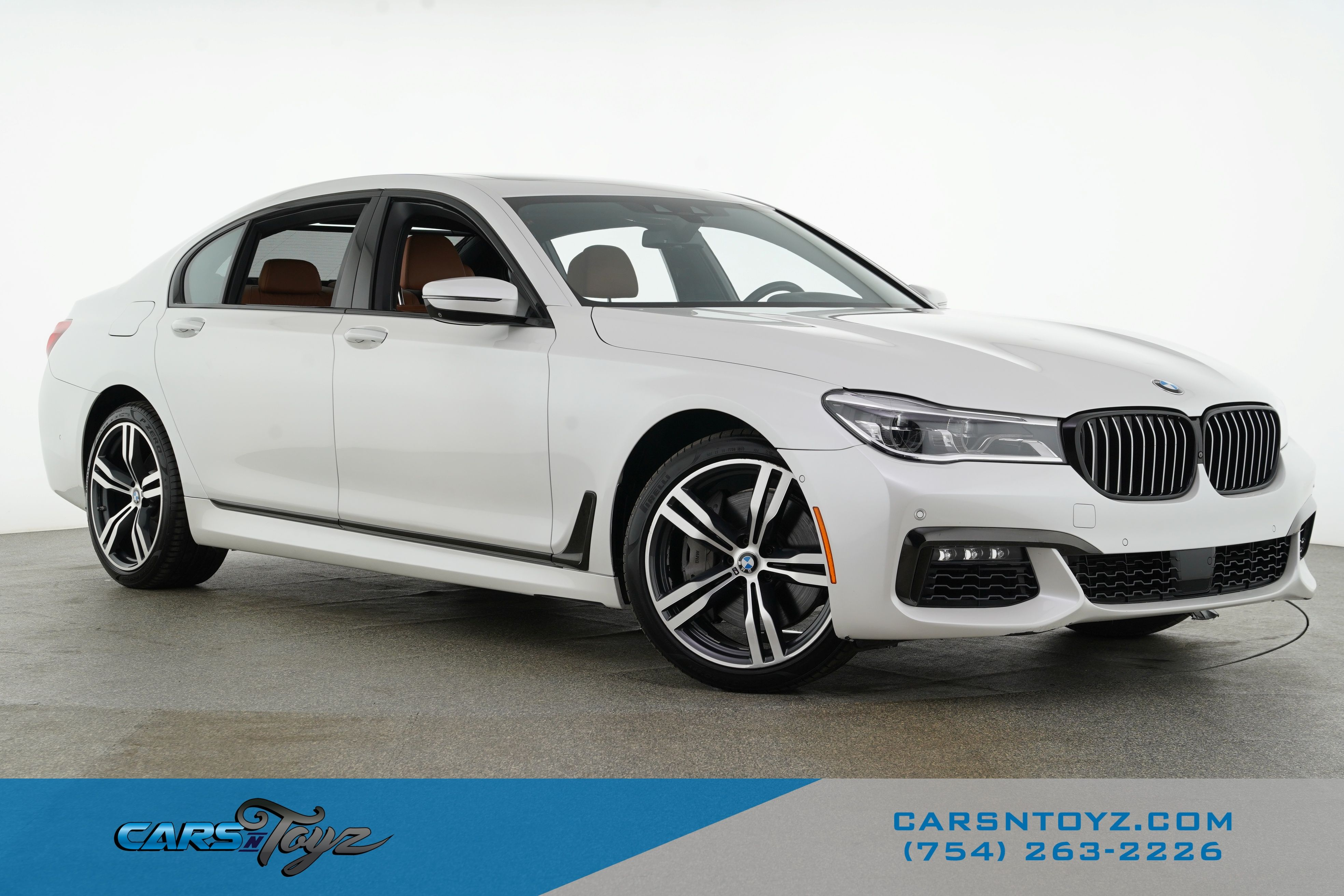 2018 BMW 7 Series 750i Rear Wheel Drive Sedan 4 Dr.