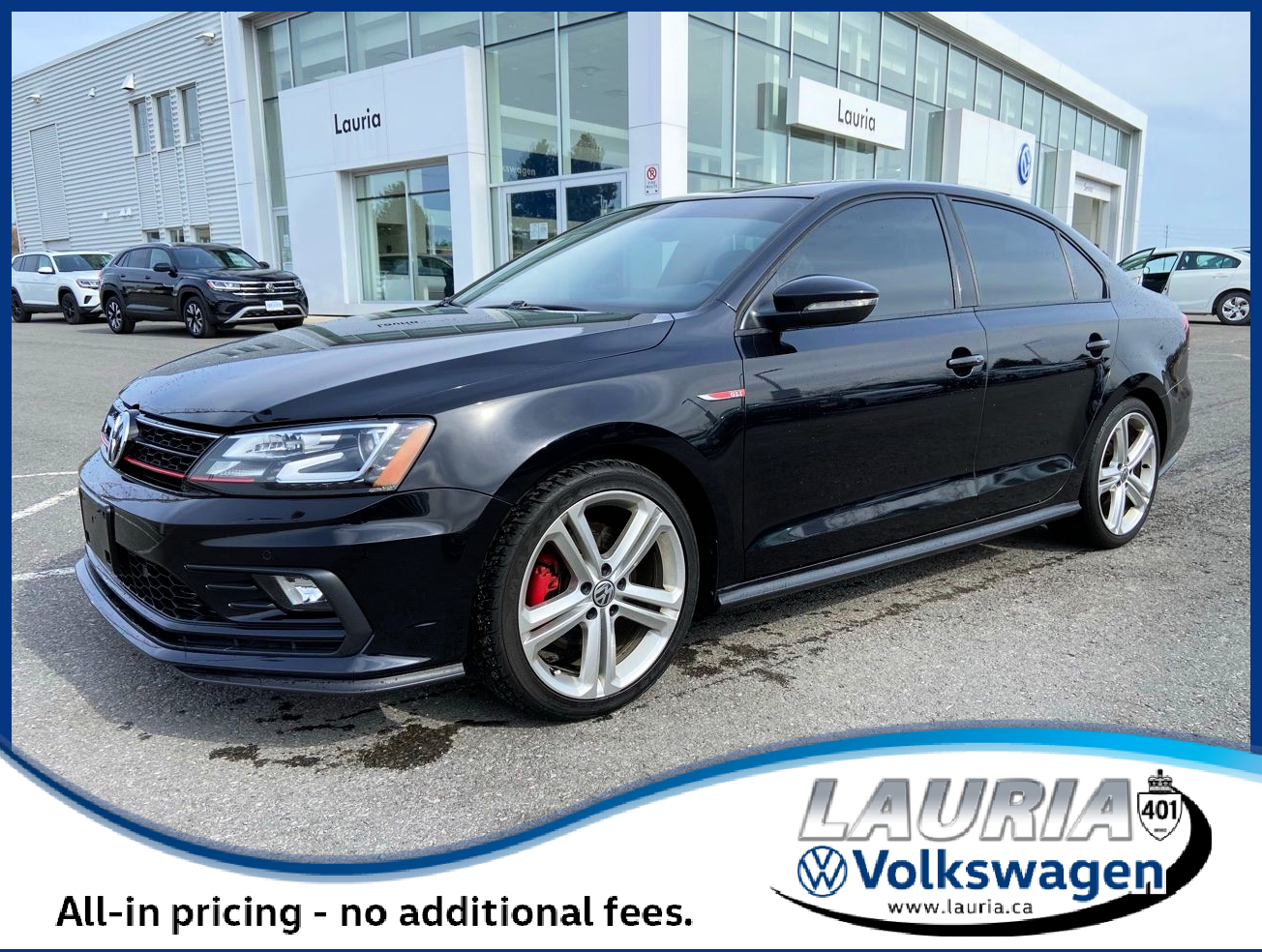 Pre-Owned 2017 Volkswagen Jetta GLI Autobahn Manual - LOW KMS!