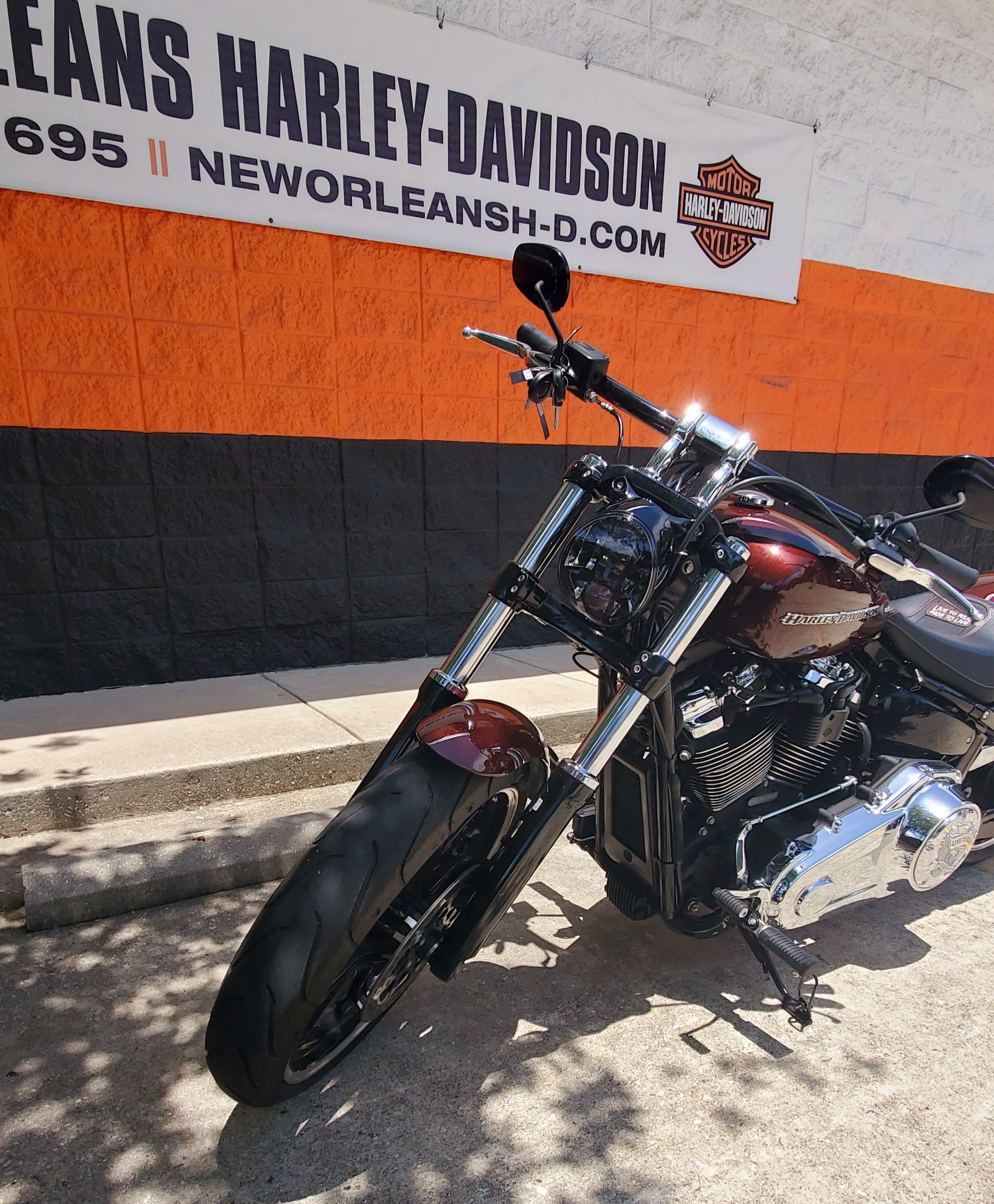 Pre-Owned 2018 Harley-Davidson Breakout 114 FXBRS