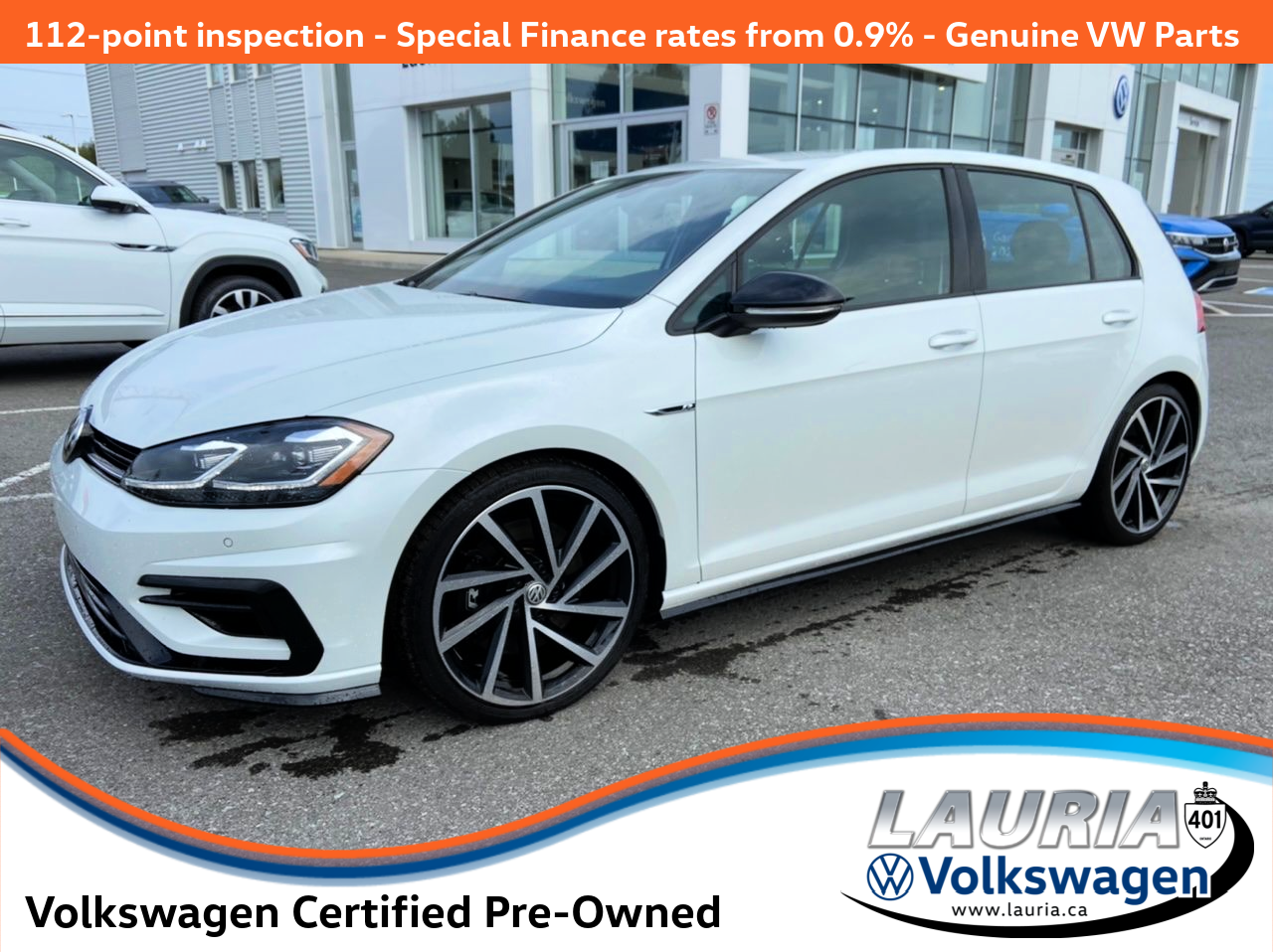 Certified Pre-Owned 2018 Volkswagen Golf R 4Motion AWD - 1 OWNER