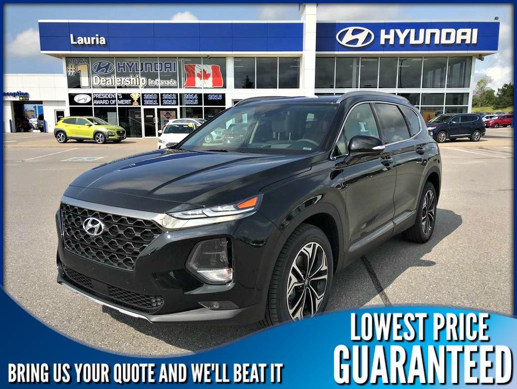 New 2019 Hyundai Santa Fe 2.0T AWD Ultimate - DEMO
