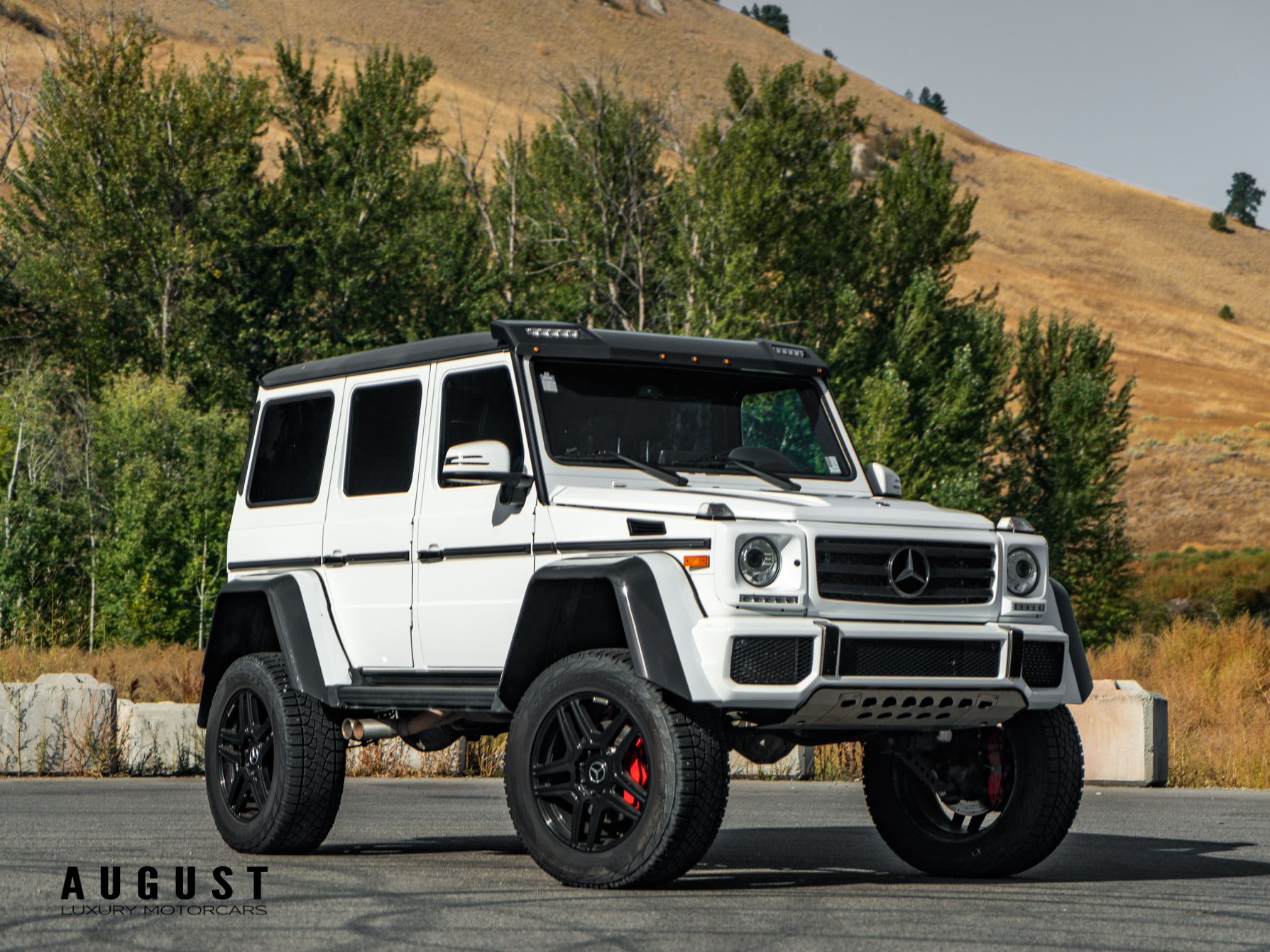 Pre Owned 2017 Mercedes Benz G Class G 550 4x4 Squared In Kelowna Bc Canada Aco 1469 August Luxury Motorcars
