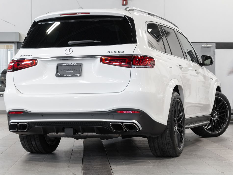 new 2021 mercedes-benz gls63 amg® 4matic®+ suv suv in