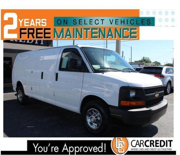 Pre-Owned 2016 Chevrolet Express Cargo Van