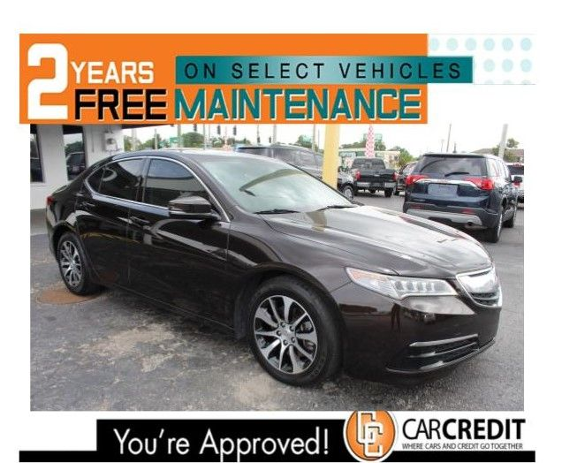 Pre-Owned 2015 Acura TLX Front Wheel Drive Sedan 4 Dr.
