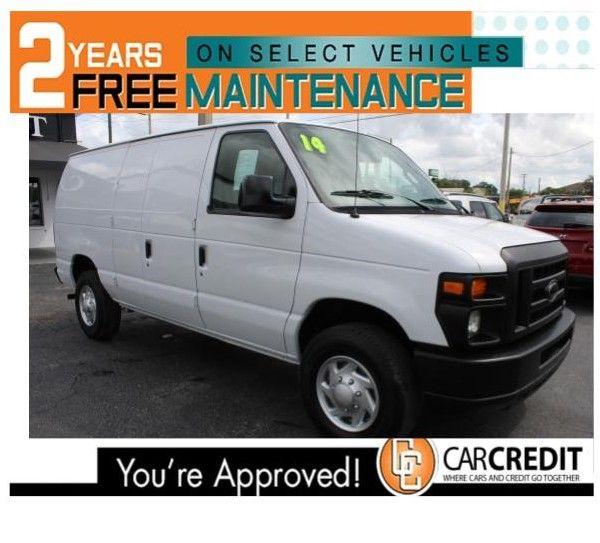 Pre-Owned 2014 Ford Econoline Cargo Van