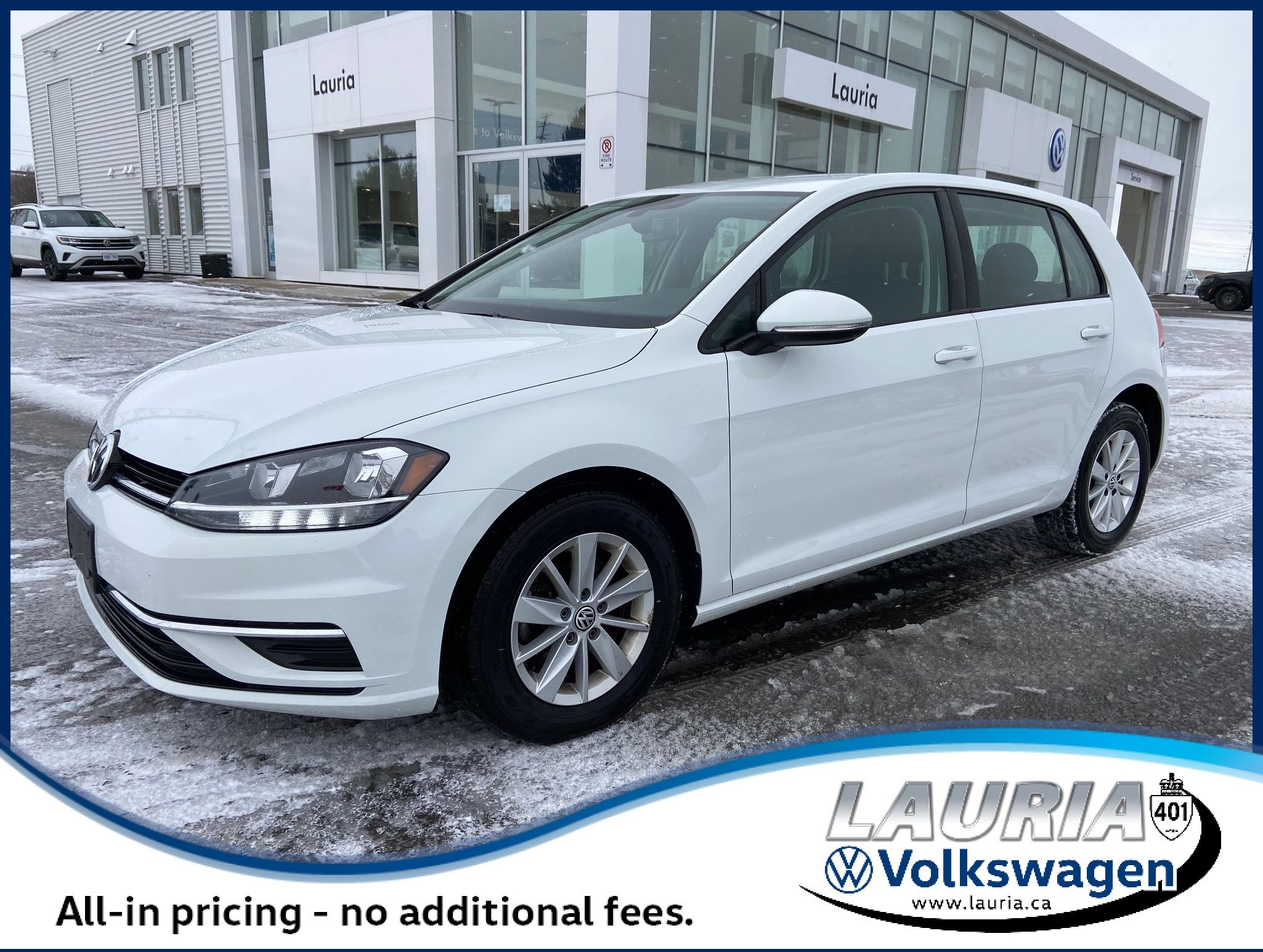 Certified Pre-Owned 2019 Volkswagen Golf Comfortline Auto - LOW KMS