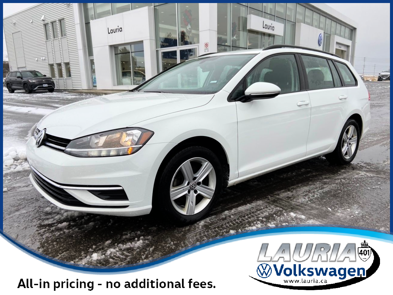 Certified Pre-Owned 2019 Volkswagen Golf SportWagen Comfortline 4Motion AWD