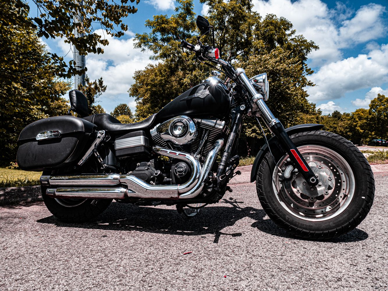 Pre-Owned 2013 Harley-Davidson Fat Bob