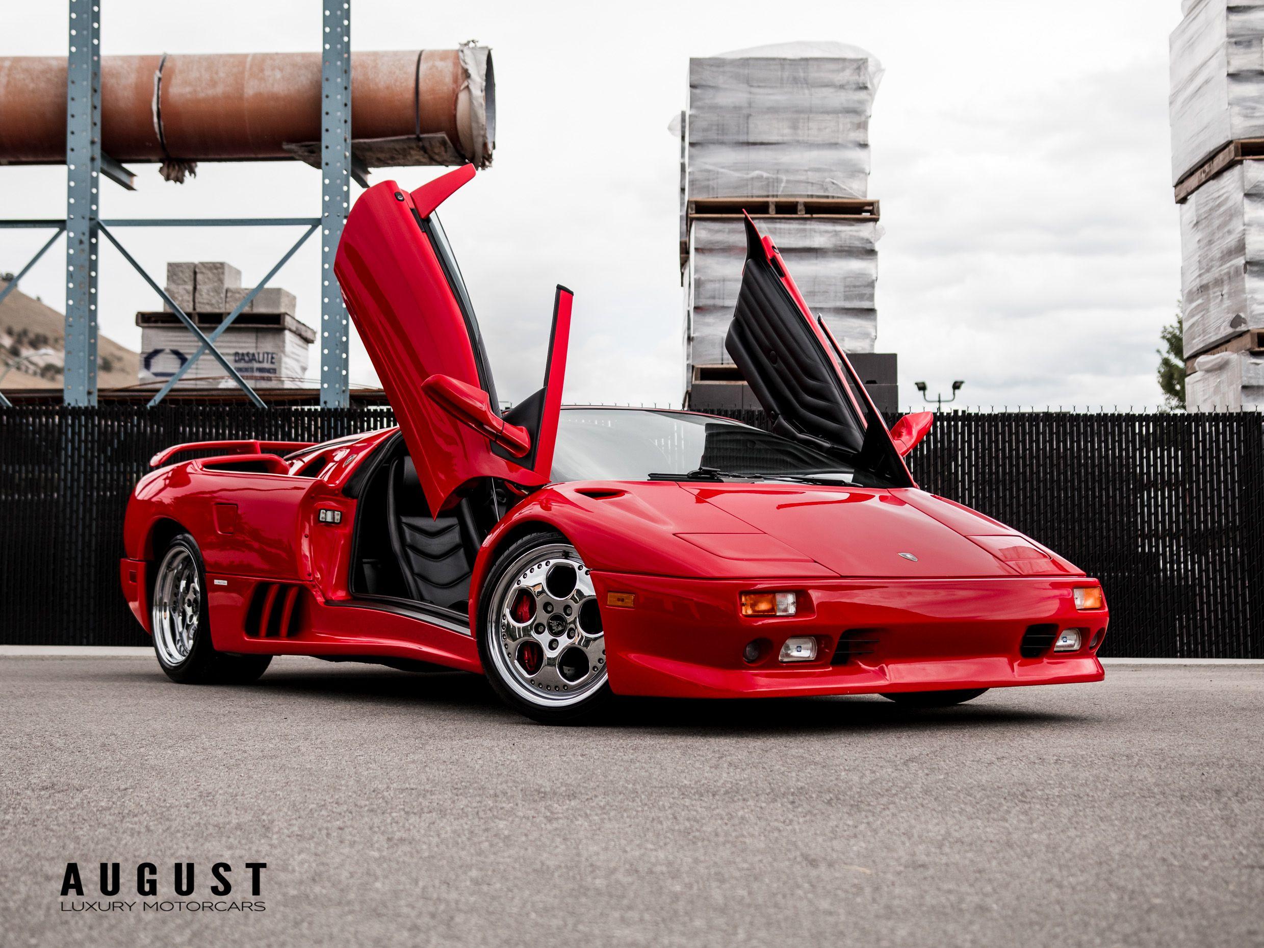 Pre-Owned 1998 Lamborghini Diablo VT Roadster