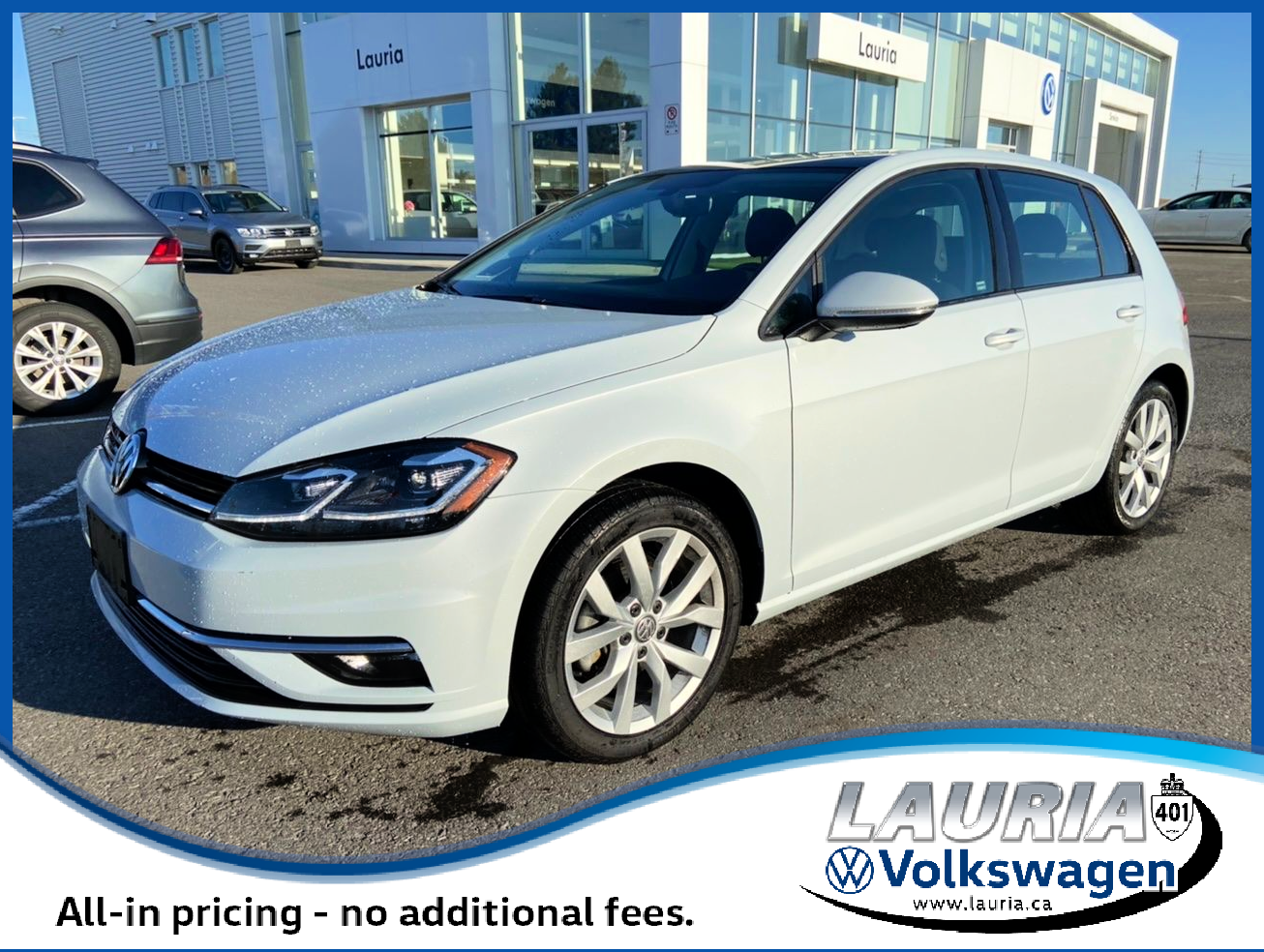 Certified Pre-Owned 2019 Volkswagen Golf Execline Auto - LOADED