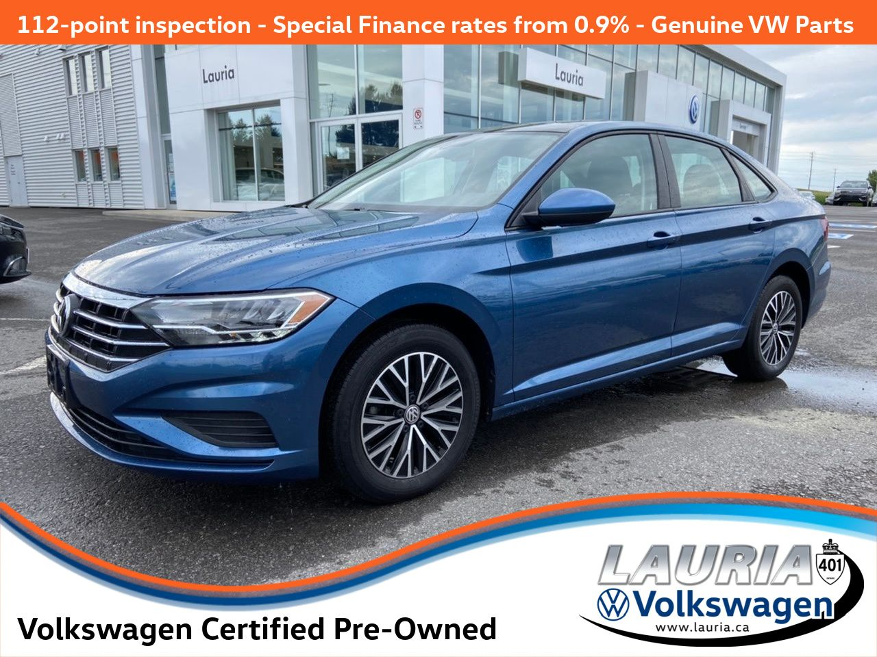 Certified Pre-Owned 2019 Volkswagen Jetta Highline Auto - LOW KMS