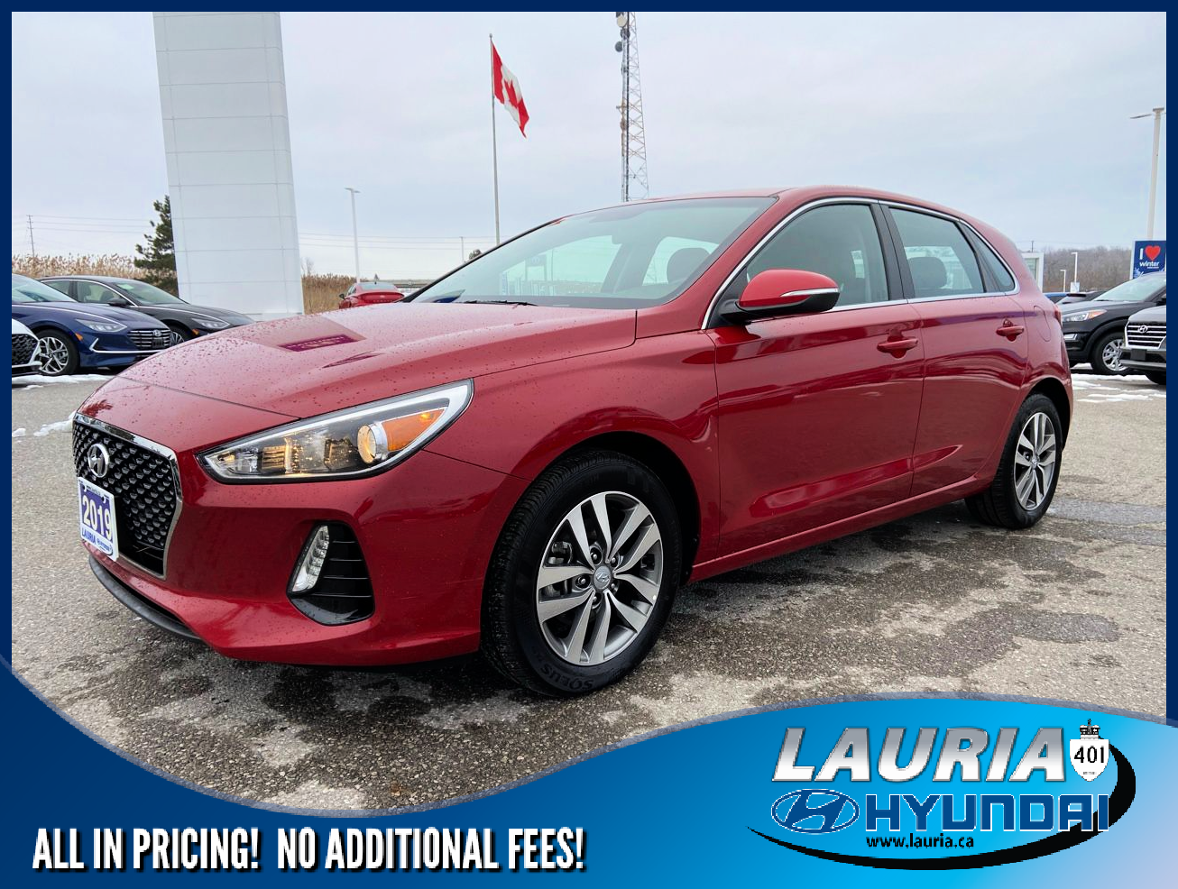 Certified Pre-Owned 2019 Hyundai Elantra GT Preferred Auto - Apple Carplay / Android Auto