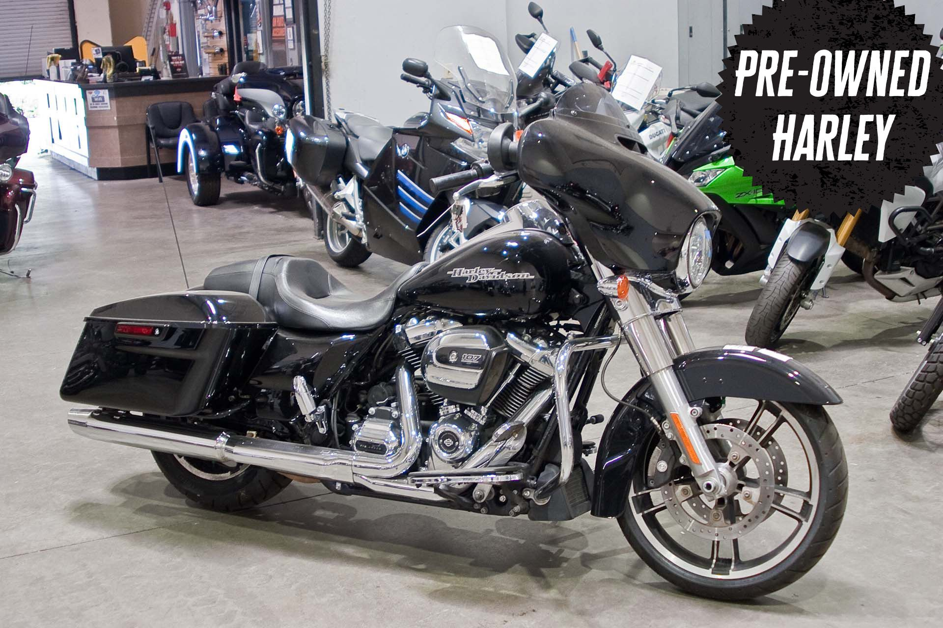 Pre-Owned 2018 Harley-Davidson Touring Street Glide FLHX