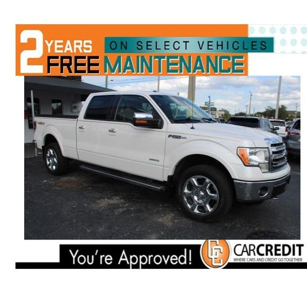 Pre-Owned 2014 Ford F-150 Lariat 4x4