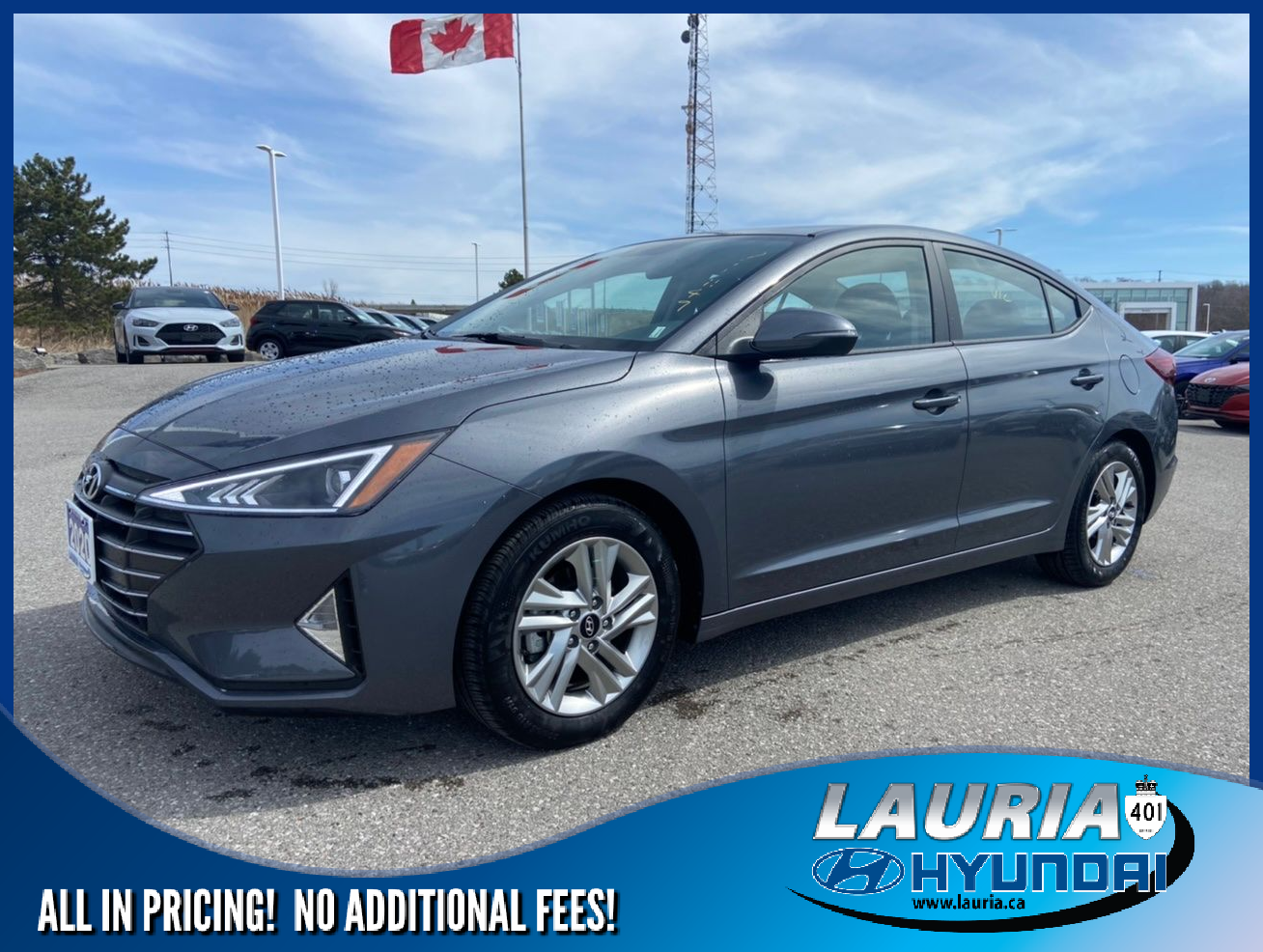Certified Pre-Owned 2020 Hyundai Elantra Preferred Auto - SUPER LOW KMS