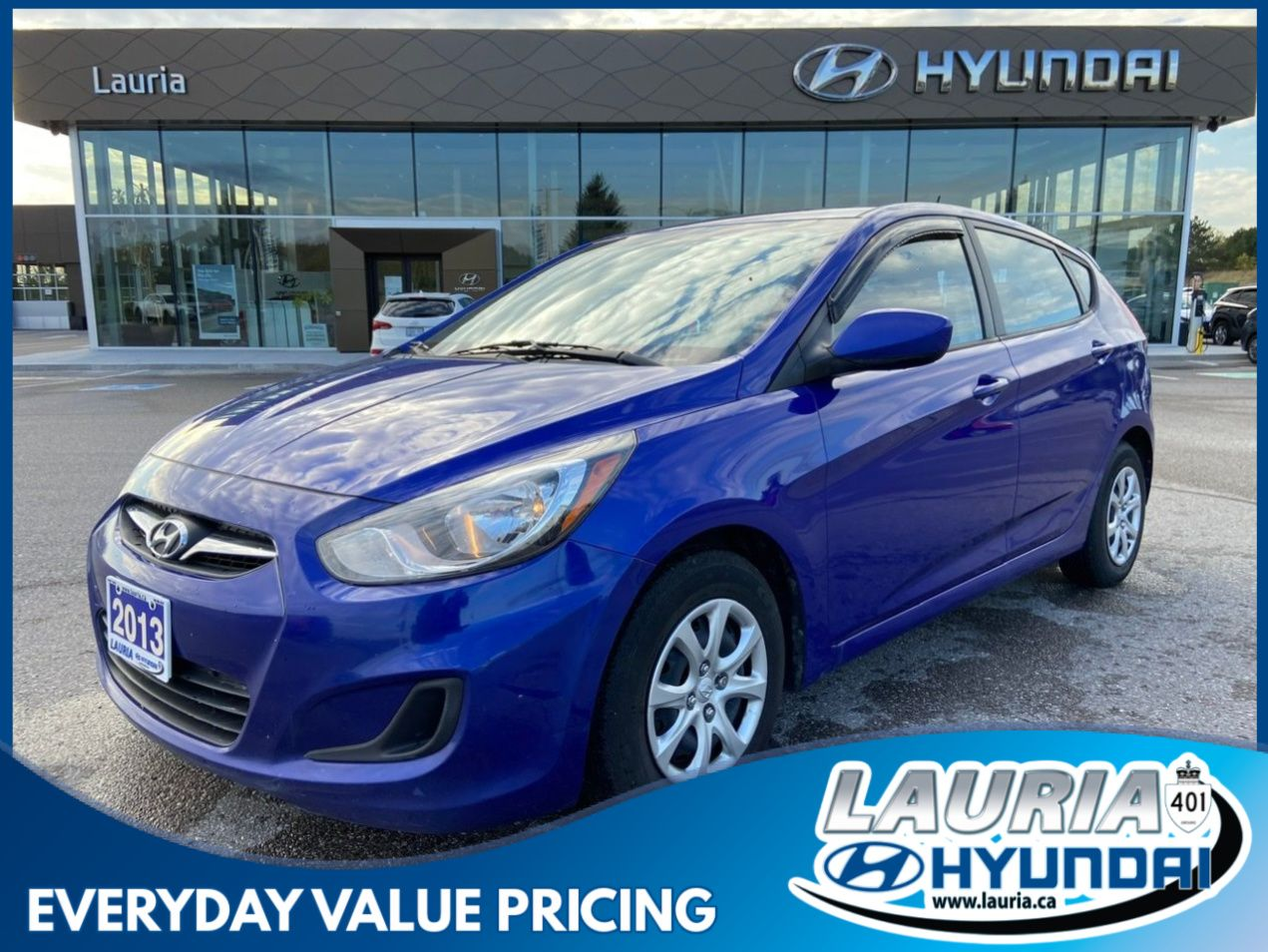 Pre-Owned 2013 Hyundai Accent 5DR GL Auto