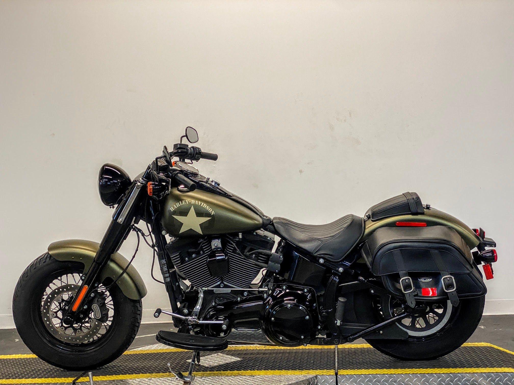 Pre-Owned 2016 Harley-Davidson Slim FLSS