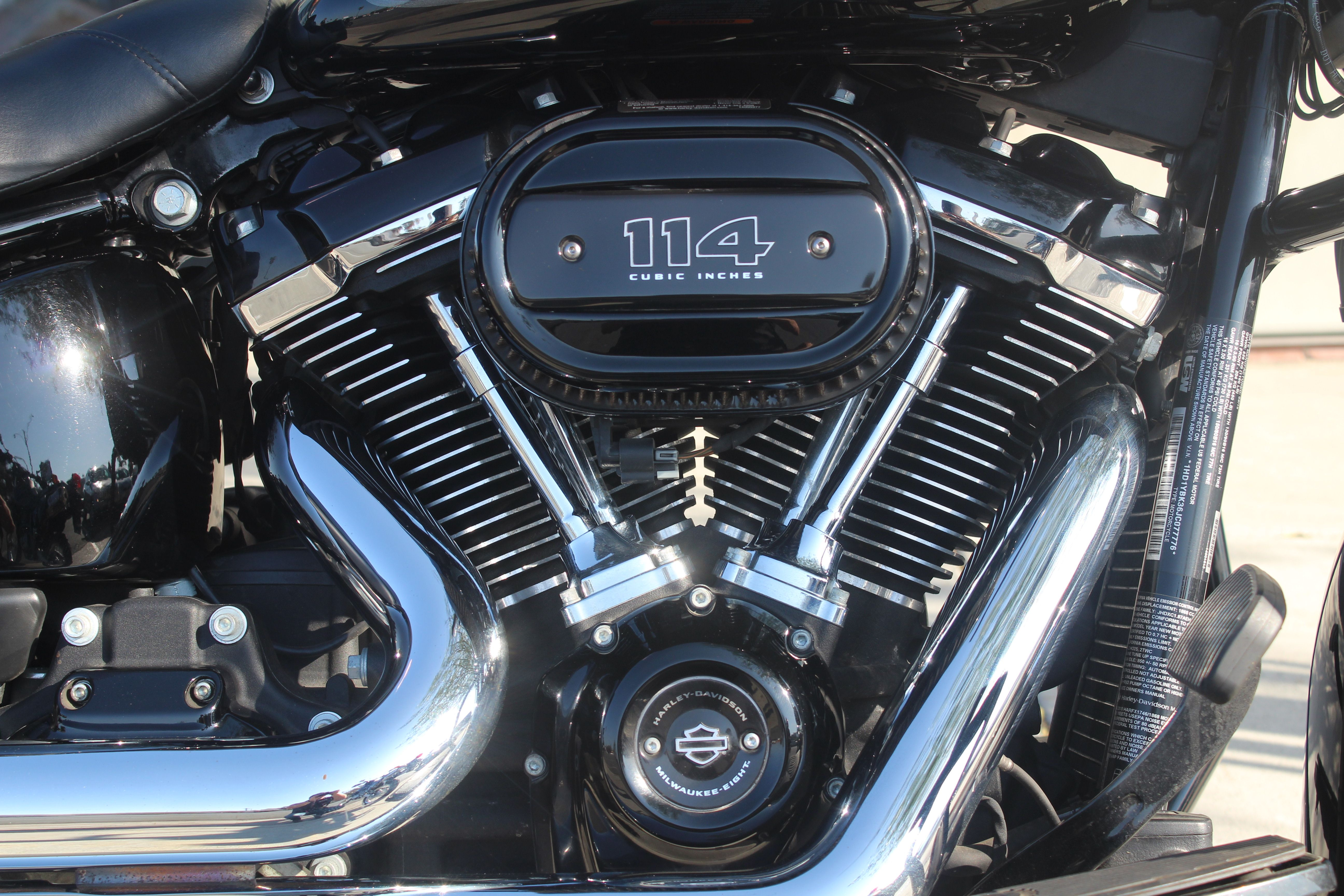 Pre-Owned 2018 Harley-Davidson Heritage Classic 114