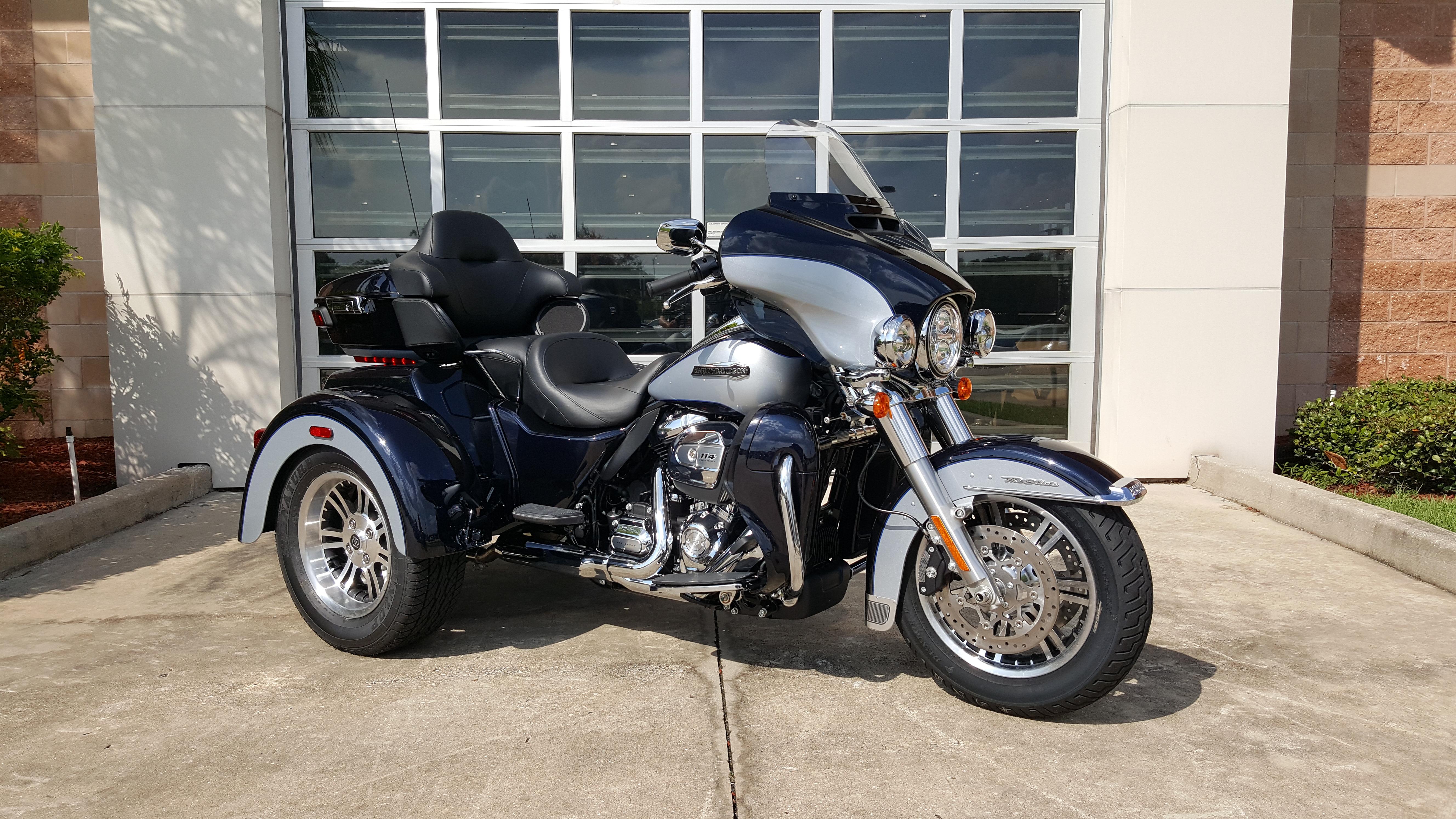New 2019 Harley-Davidson Tri Glide Ultra Classic