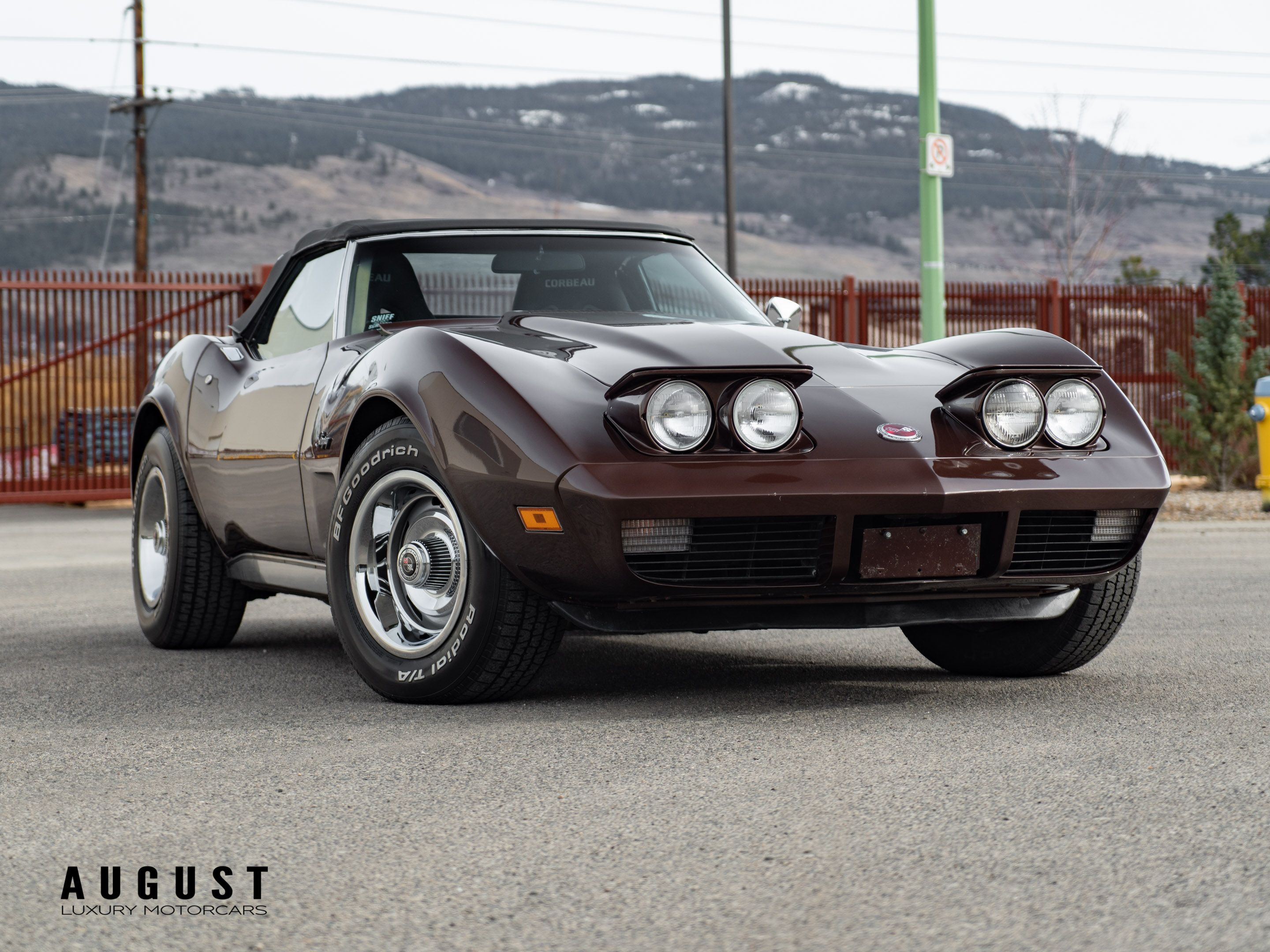 Pre-Owned 1974 Chevrolet Corvette Convertible Stingray With a 350ci