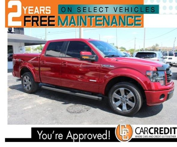 Pre-Owned 2013 Ford F-150 FX2 SPORT 4X4