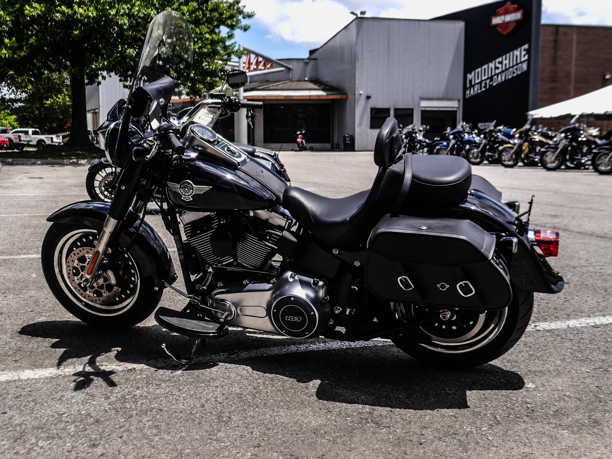 Pre-Owned 2016 Harley-Davidson Fat Boy Lo