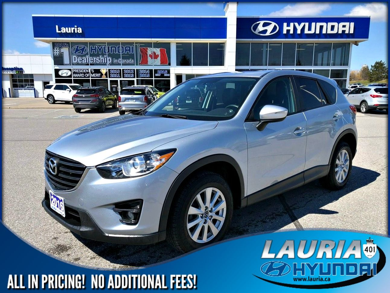Pre-Owned 2016 Mazda CX-5 GS AWD - Navigation