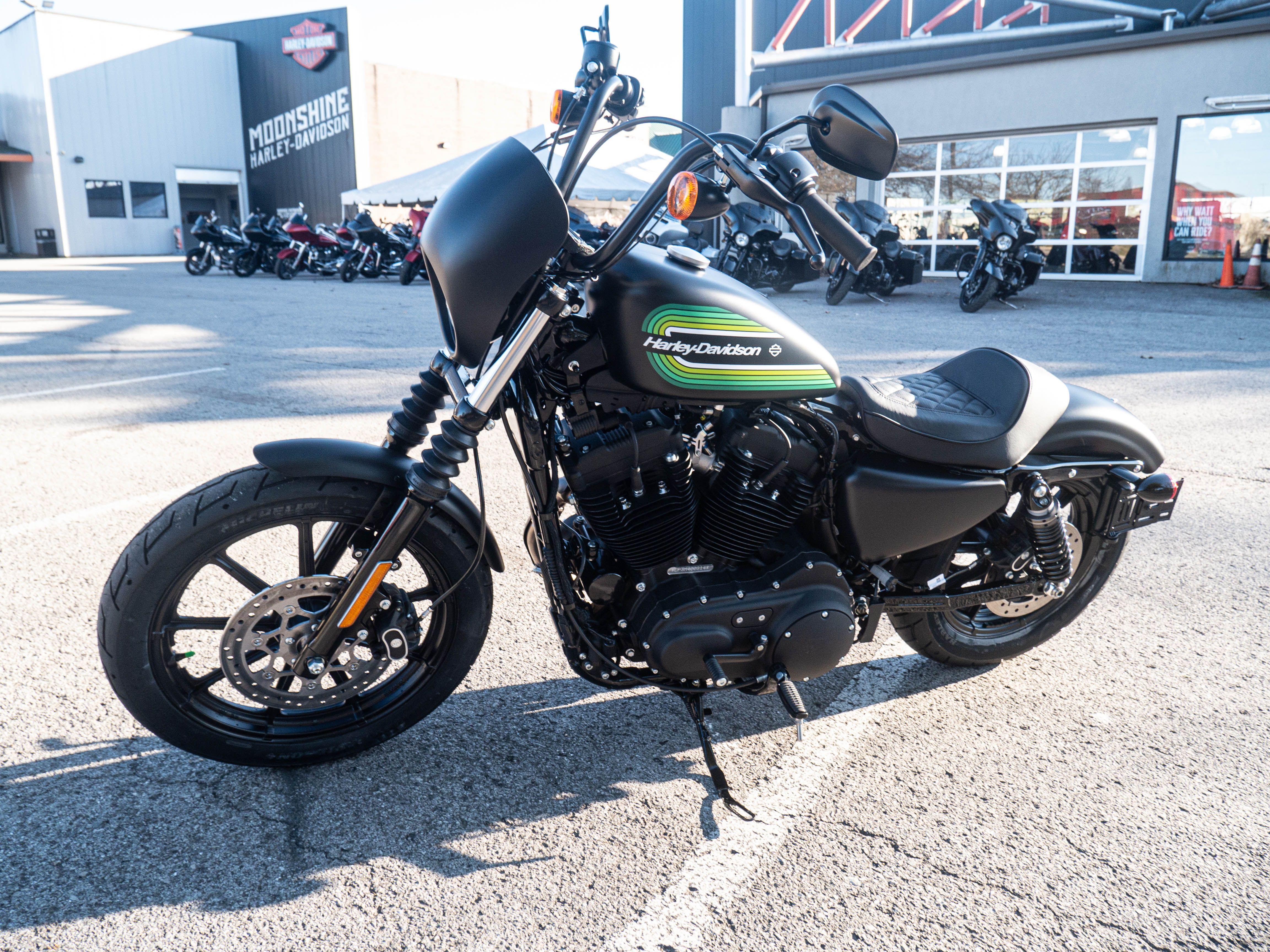 New 2021 Harley-Davidson Iron 1200