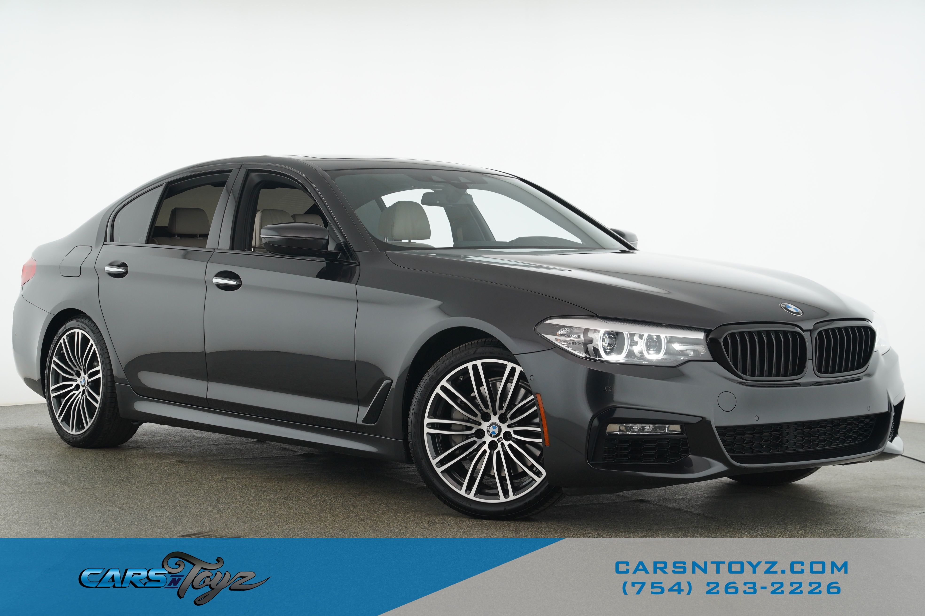 2018 BMW 5 Series 530i Rear Wheel Drive Sedan 4 Dr.