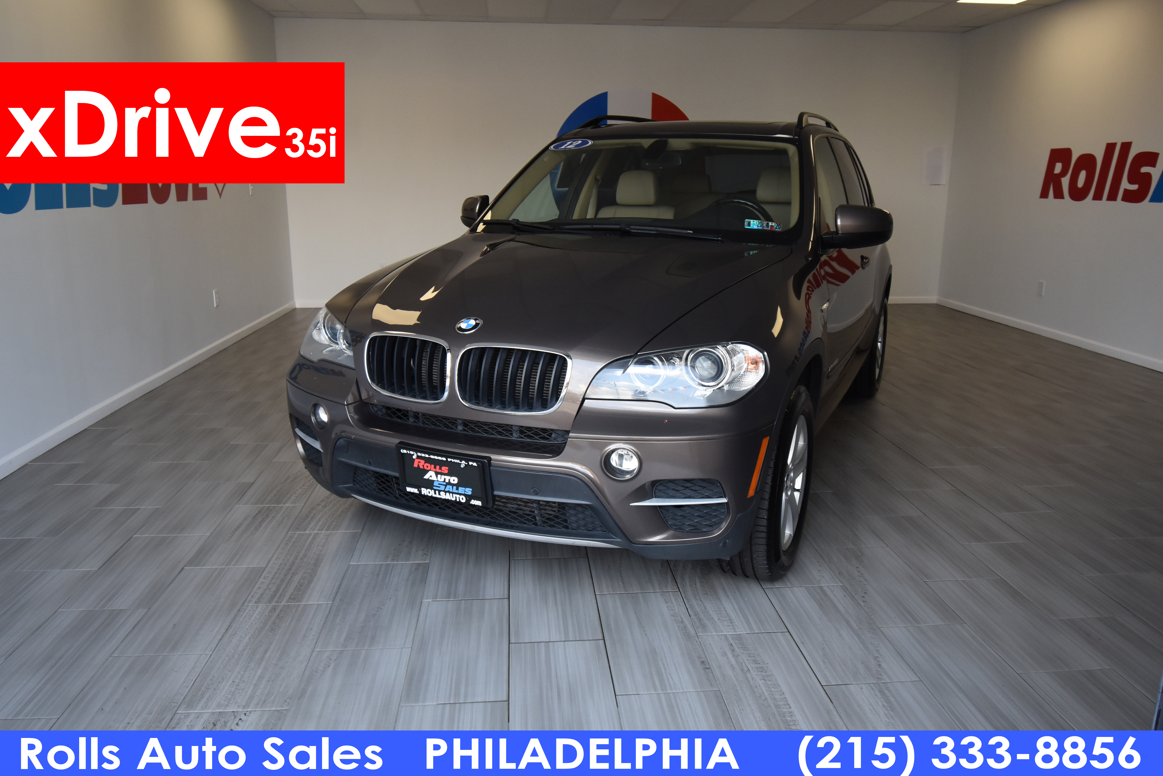 Pre-Owned 2012 BMW X5 Utility 4D 35i AWD