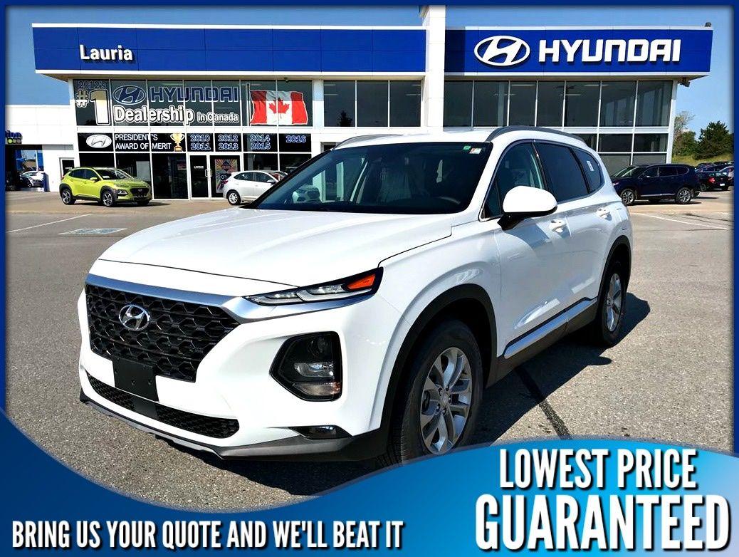 New 2020 Hyundai Santa Fe 2.4L FWD Essential w/Safety Pkg
