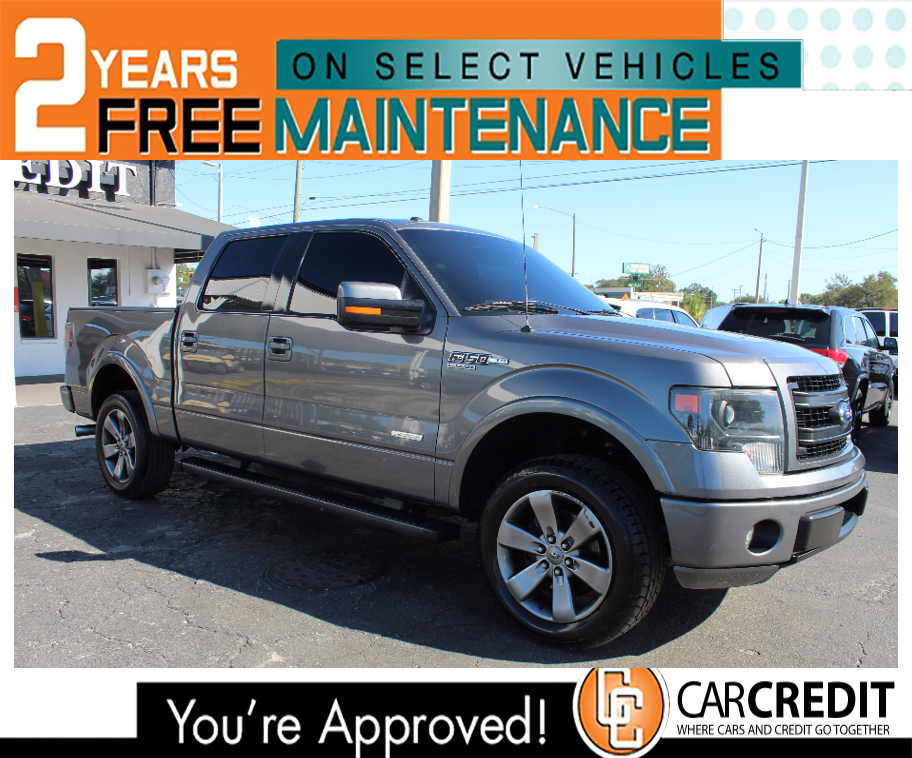 Pre-Owned 2014 Ford F-150 3.5 L TURN TURBO FX2