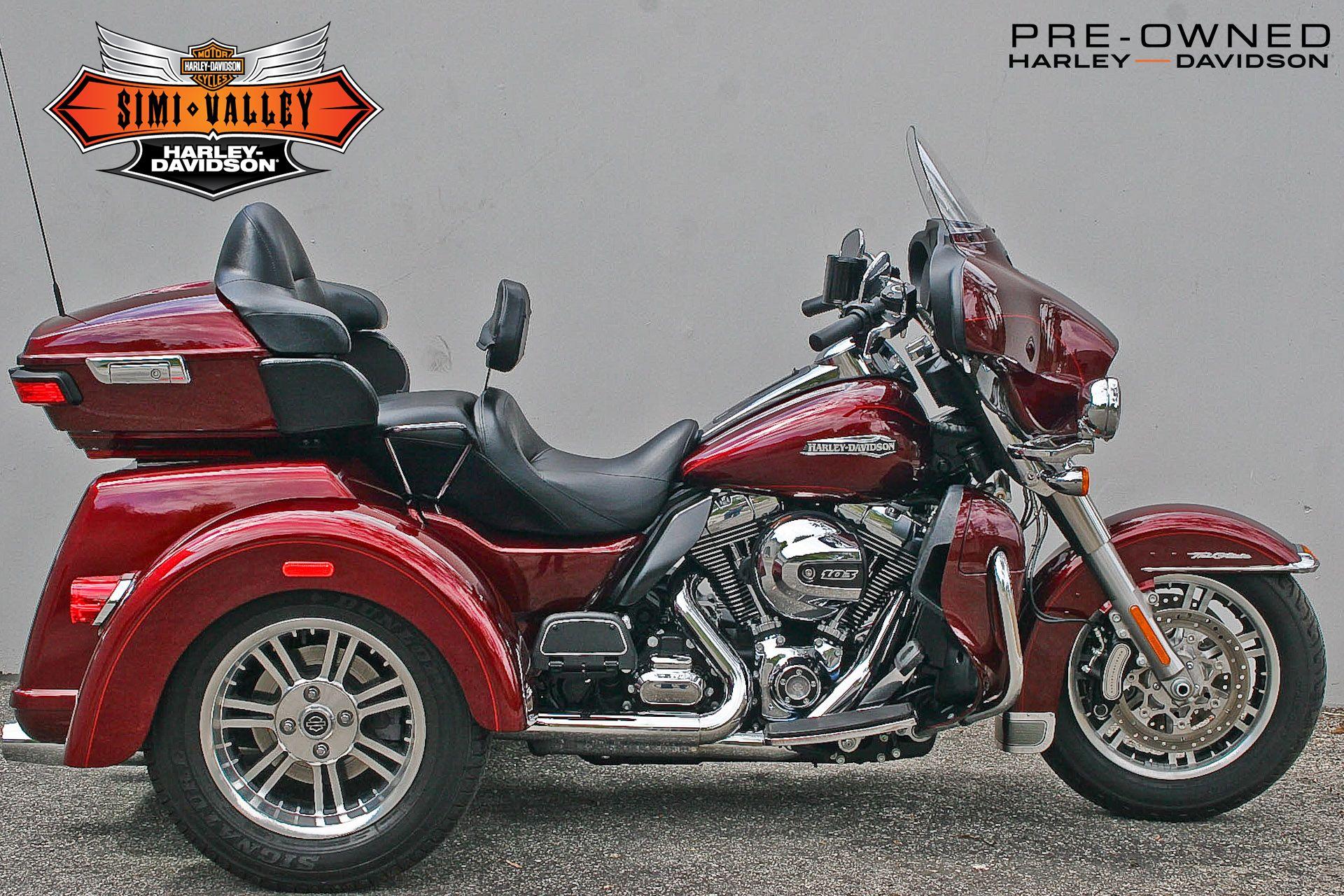 2015 Harley-Davidson Tri Glide Ultra Classic