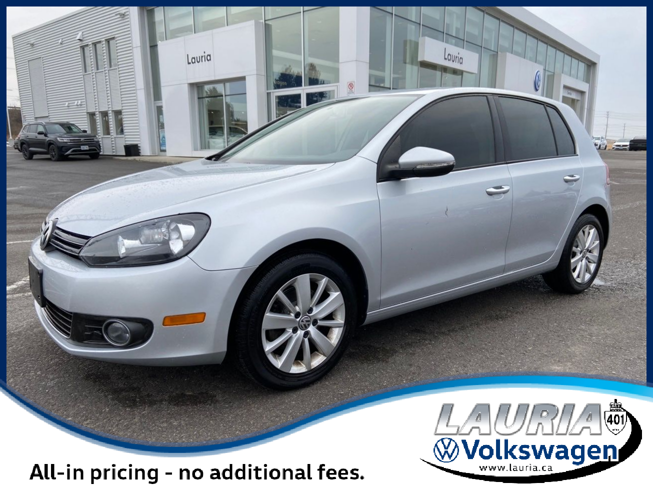 Pre-Owned 2013 Volkswagen Golf Comfortline TDI Manual - LOW KMS