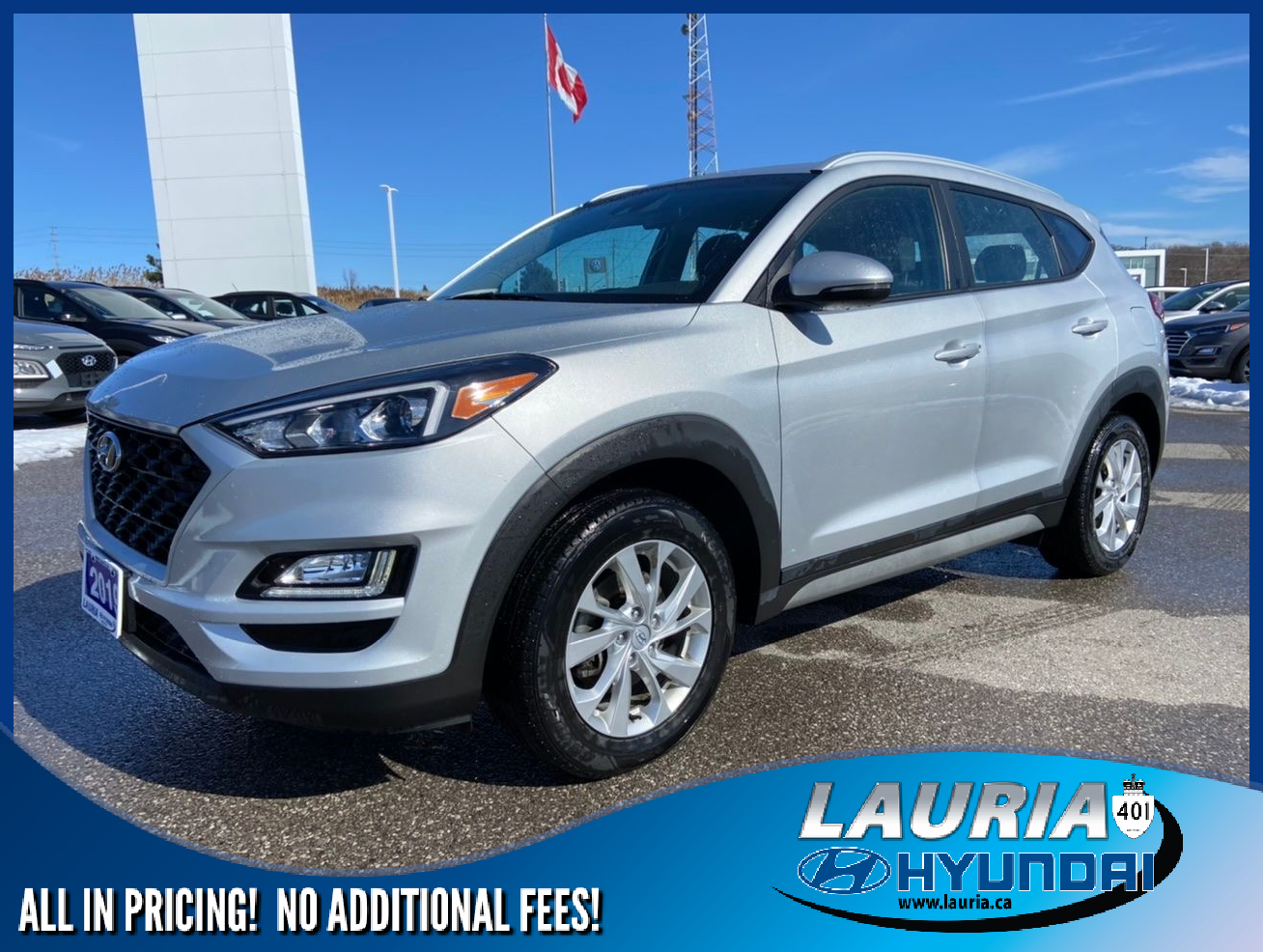 Certified Pre-Owned 2019 Hyundai Tucson 2.0L AWD Preferred - LOW KMS