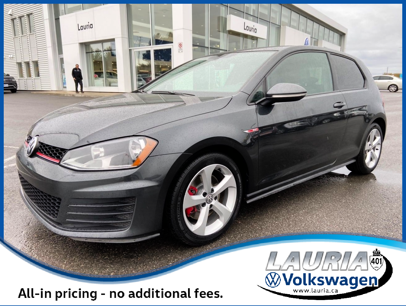 Pre-Owned 2017 Volkswagen Golf GTI 2DR Manual