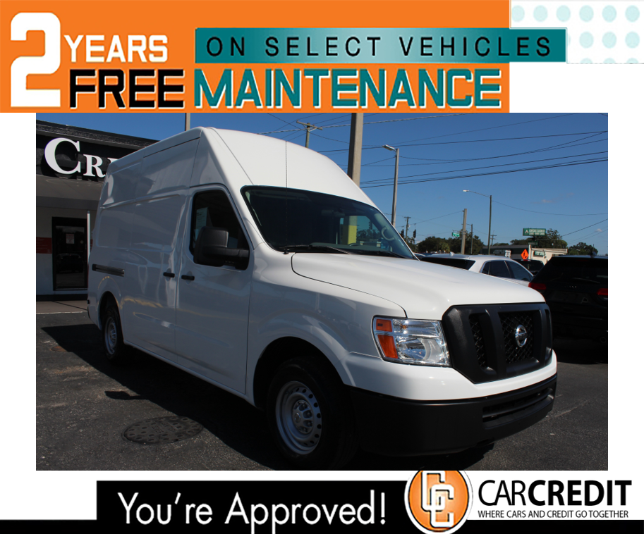 Pre-Owned 2017 Nissan NV Cargo S