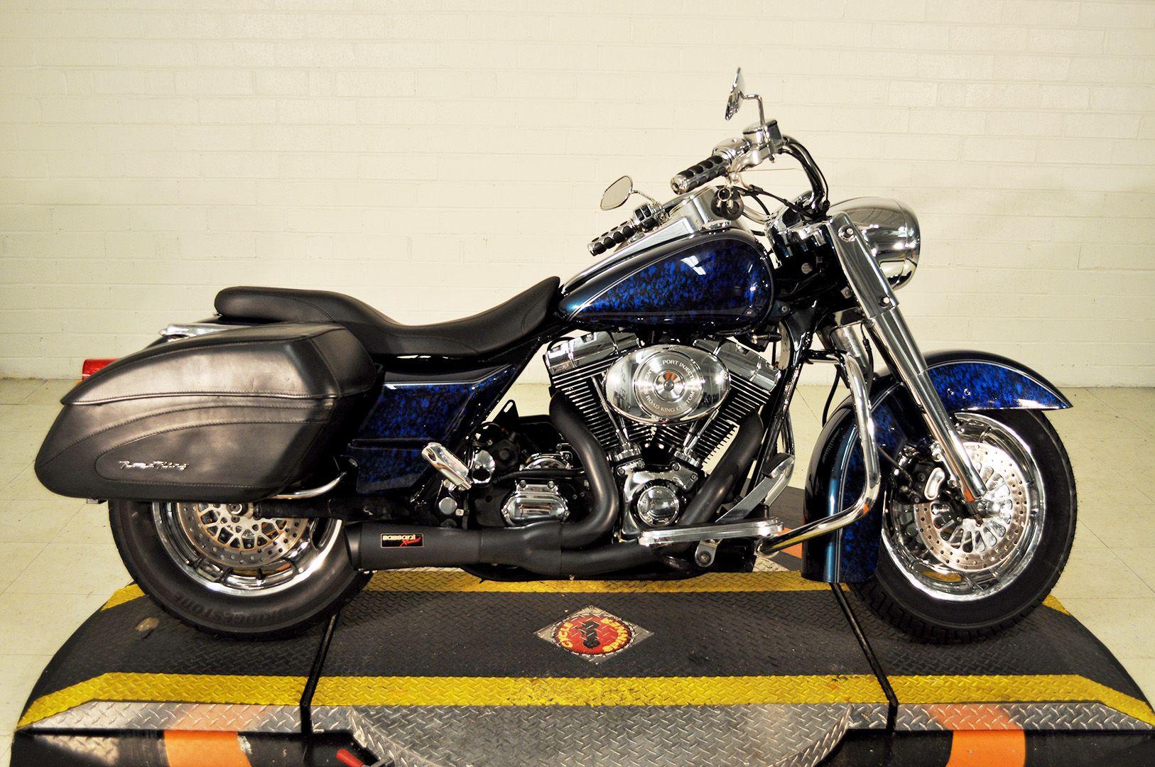 Pre Owned 2004 Harley Davidson Road King Custom In Winston Salem Tn730681 Smokin Harley Davidson