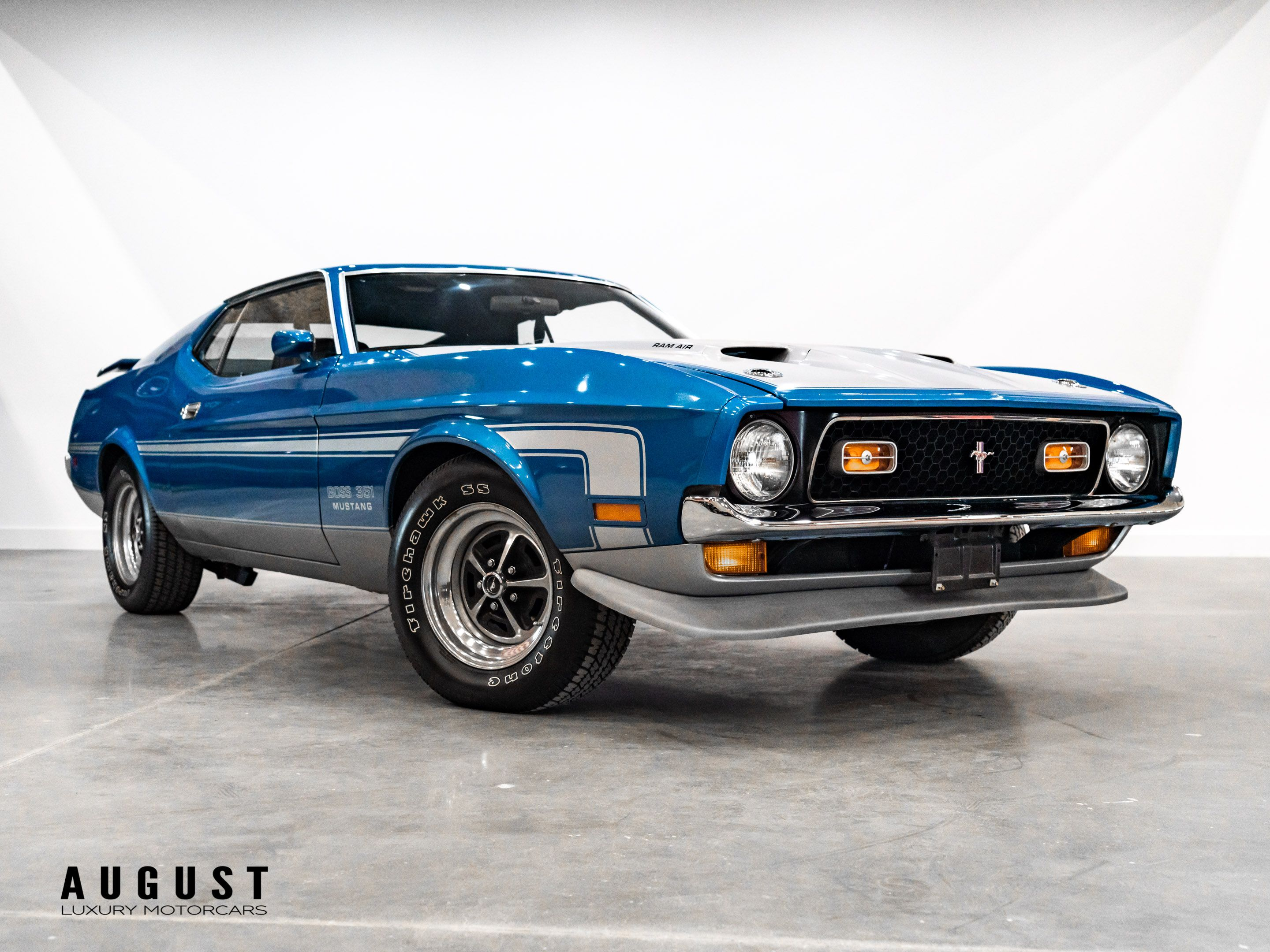 Pre-Owned 1971 Ford Mustang Boss 351